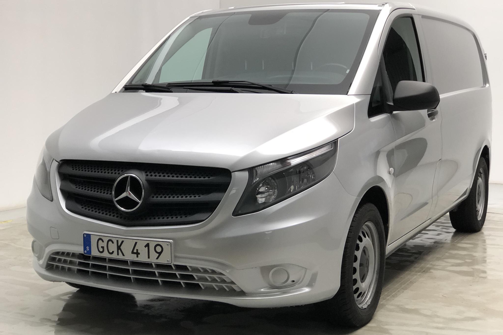 Mercedes Vito 119 BlueTEC 4x4 W640 (190hk) - 6 172 mil - Automat - silver - 2015