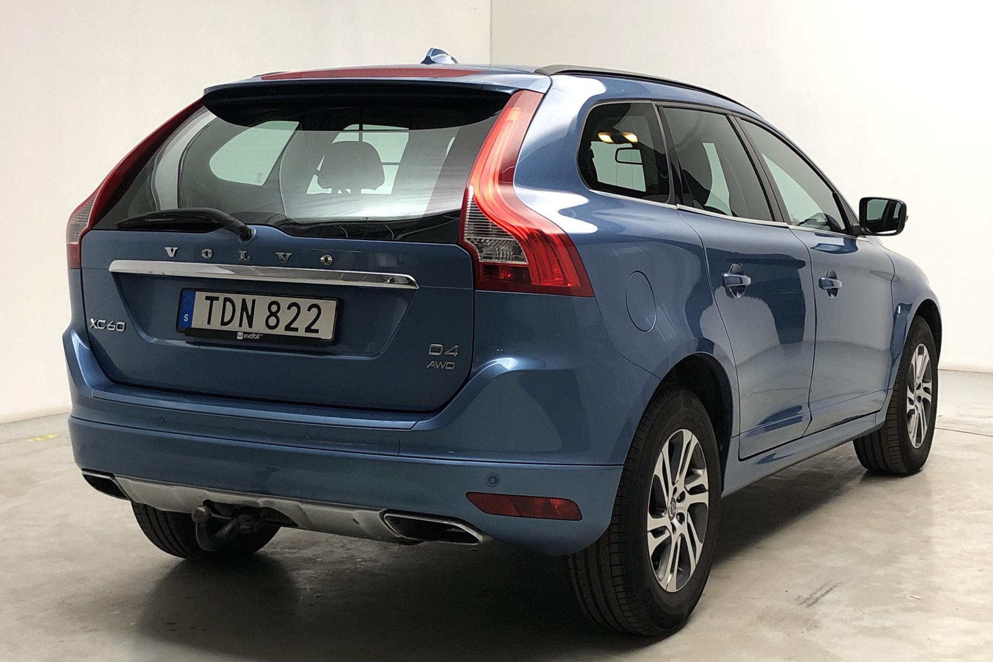 Volvo XC60 D4 AWD (181hk) - 22 045 mil - Manuell - blå - 2015