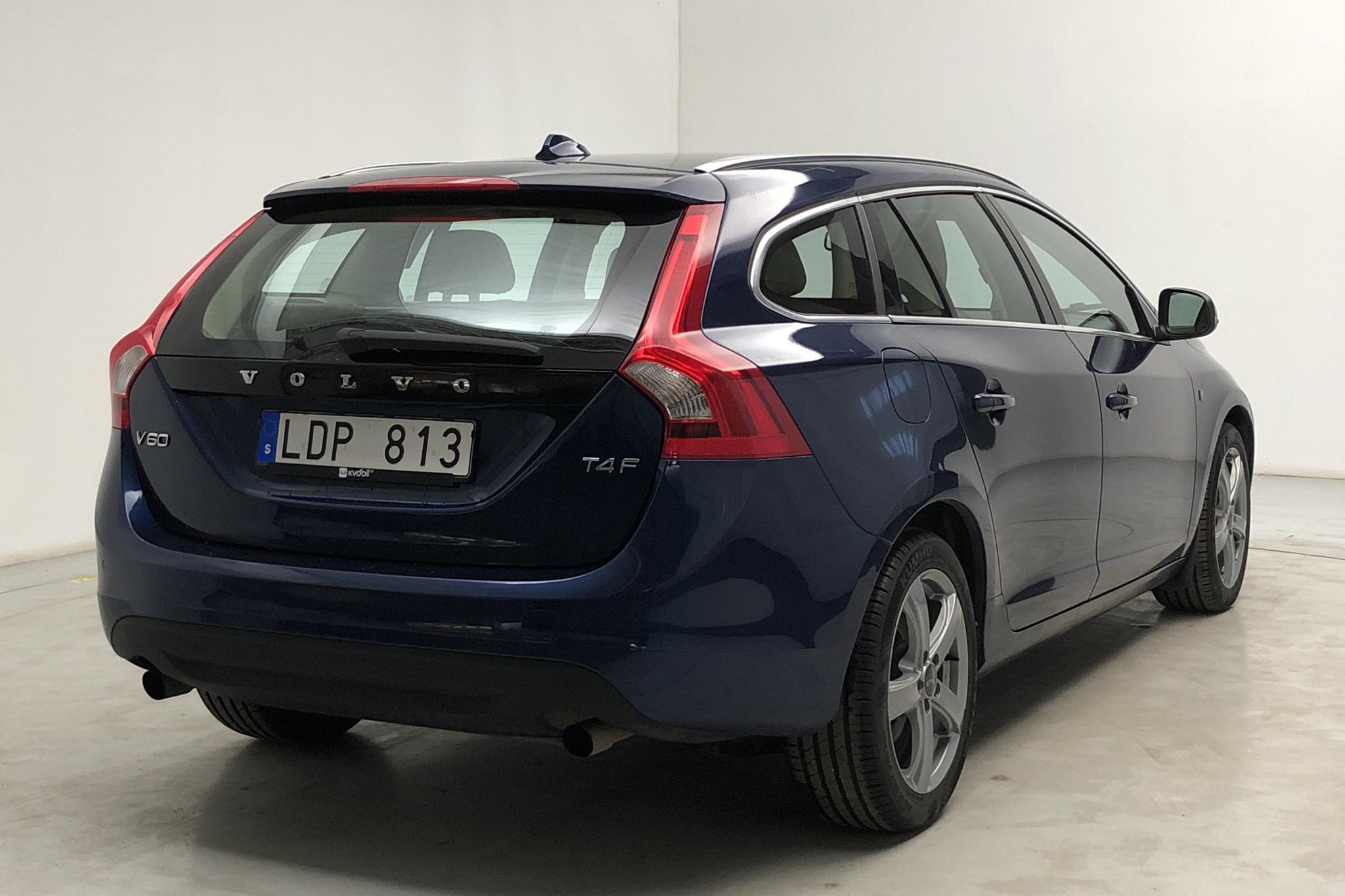Volvo V60 T4F (180hk) - 91 440 km - Automatic - blue - 2012