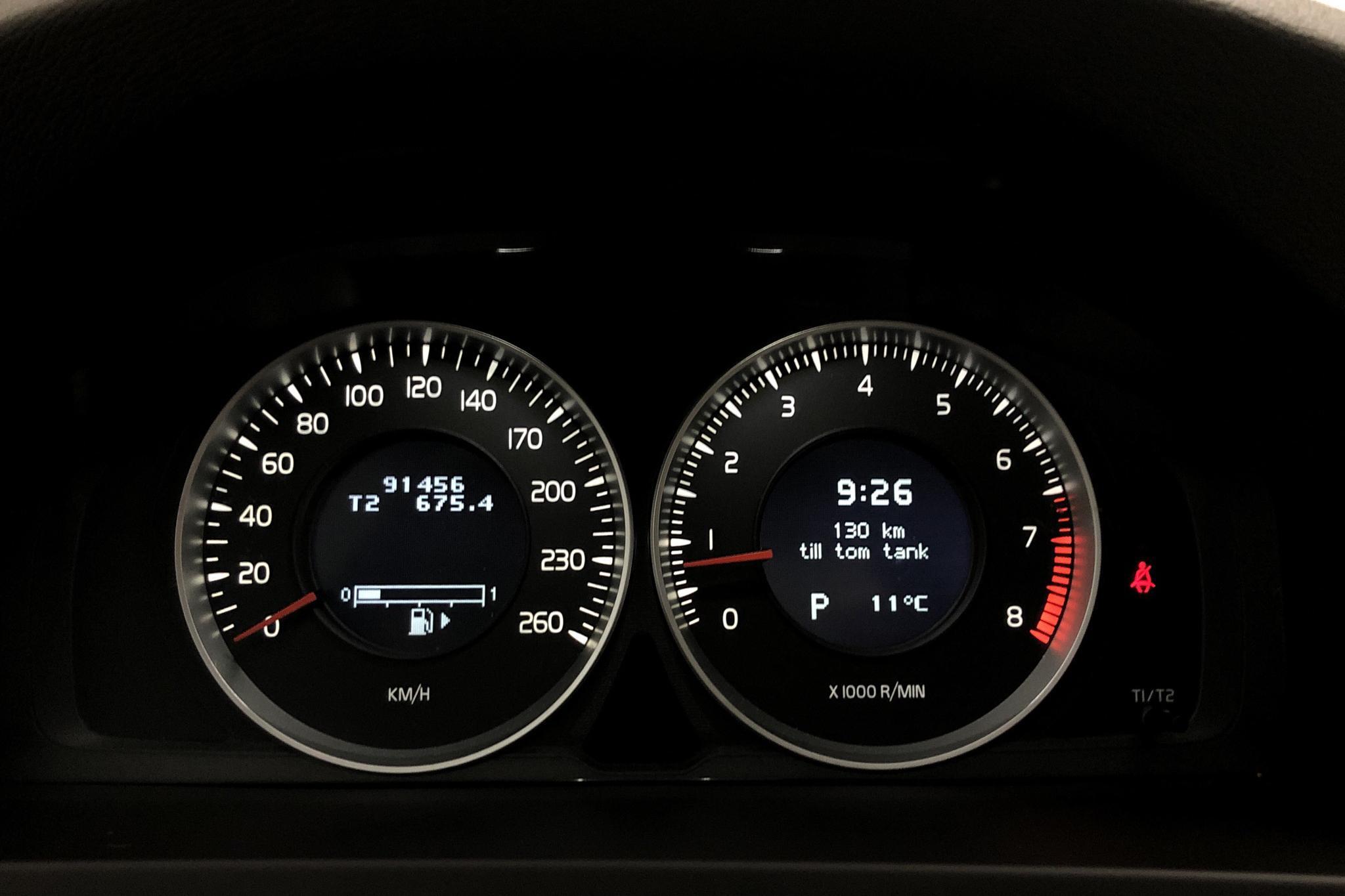 Volvo V60 T4F (180hk) - 9 144 mil - Automat - blå - 2012
