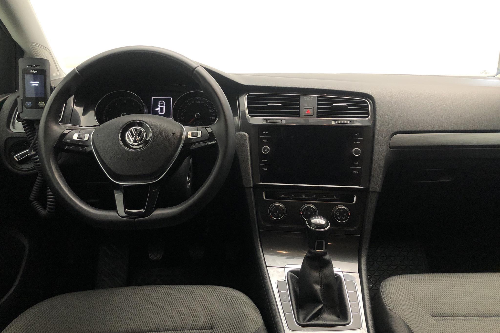 VW Golf VII 1.4 TSI Multifuel 5dr (125hk) - 2 756 mil - Manuell - Dark Grey - 2018