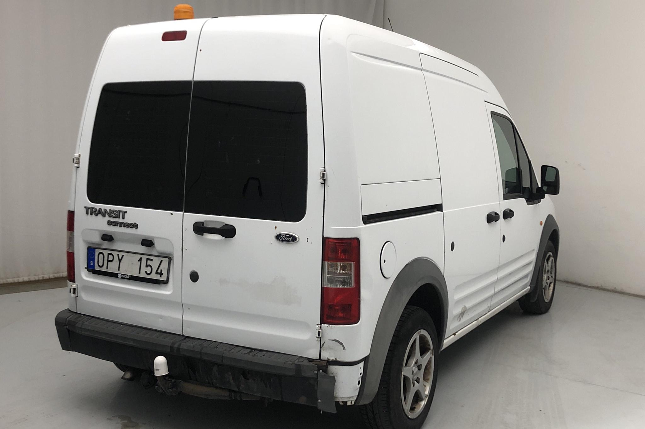 Ford Transit Connect 1.8 TDCi (90hk) - 130 520 km - Manual - white - 2008