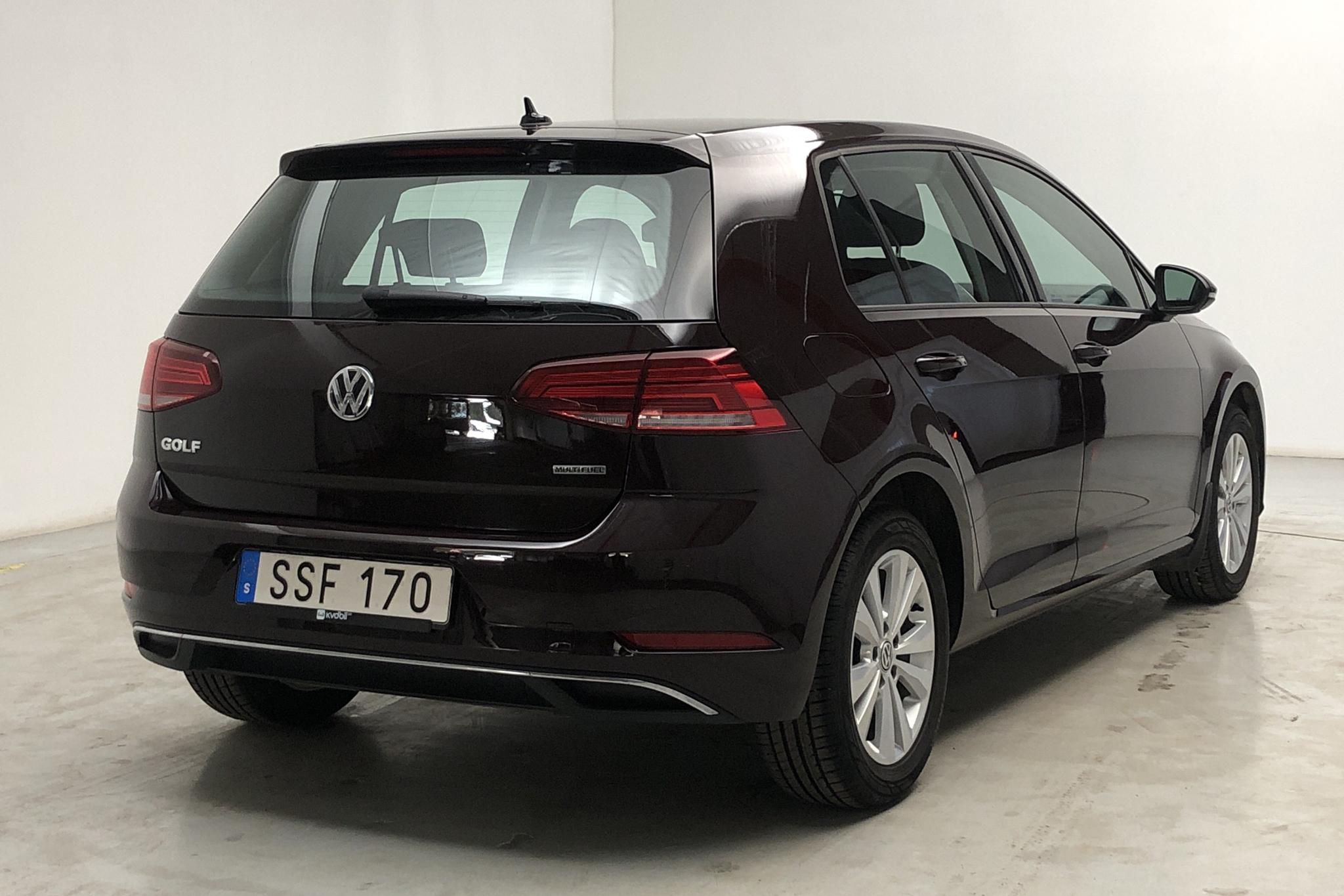 VW Golf VII 1.4 TSI Multifuel 5dr (125hk) - 26 300 km - Manual - black - 2018