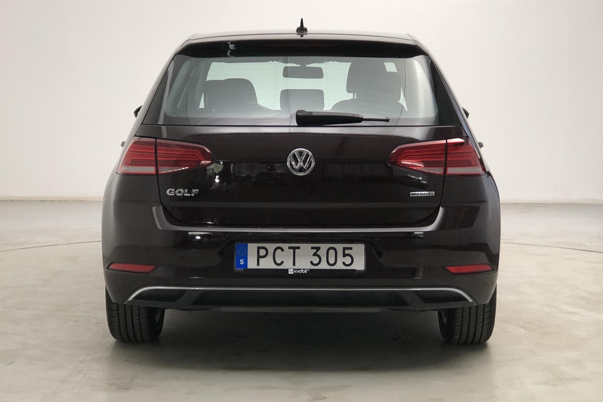 VW Golf VII 1.4 TSI Multifuel 5dr (125hk) - 2 468 mil - Manuell - svart - 2018