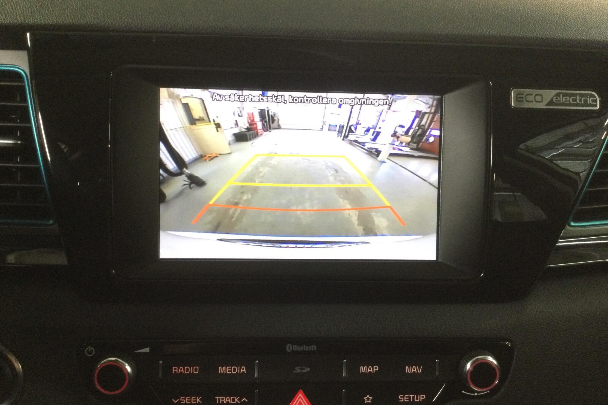 KIA Niro EV 64 kWh (204hk) - 5 675 mil - Automat - vit - 2019