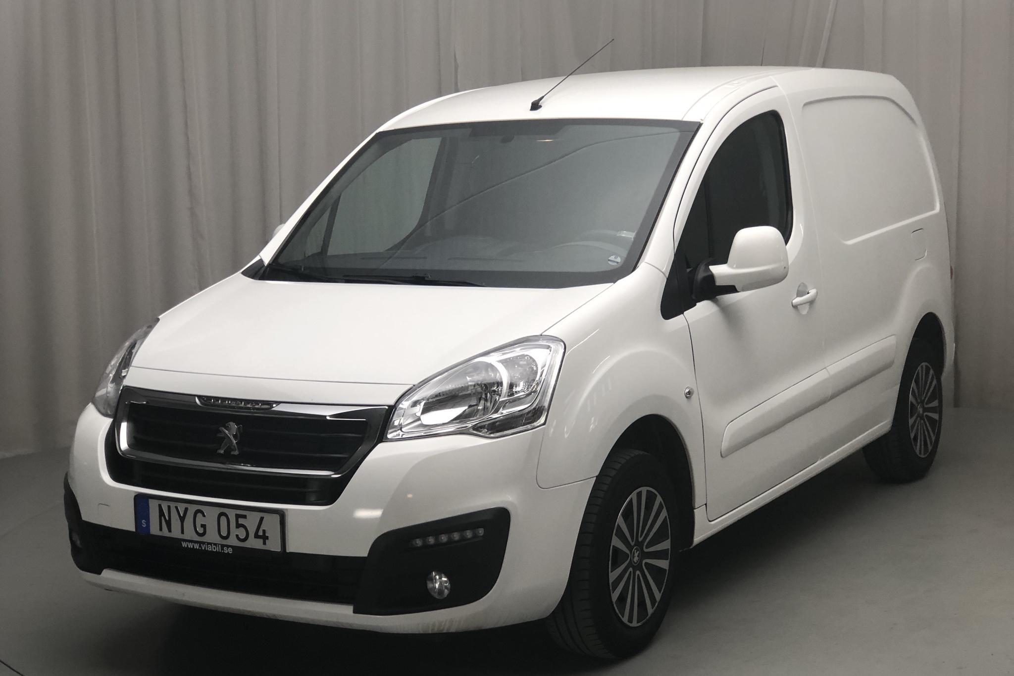 Peugeot Partner 1.6 BlueHDI Skåp (100hk) - 65 590 km - Manual - white - 2016