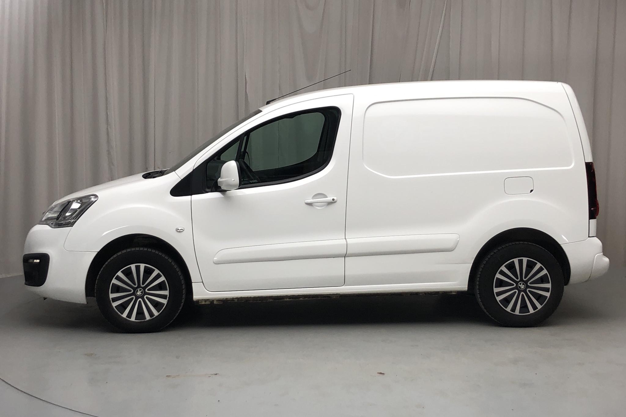 Peugeot Partner 1.6 BlueHDI Skåp (100hk) - 6 559 mil - Manuell - vit - 2016