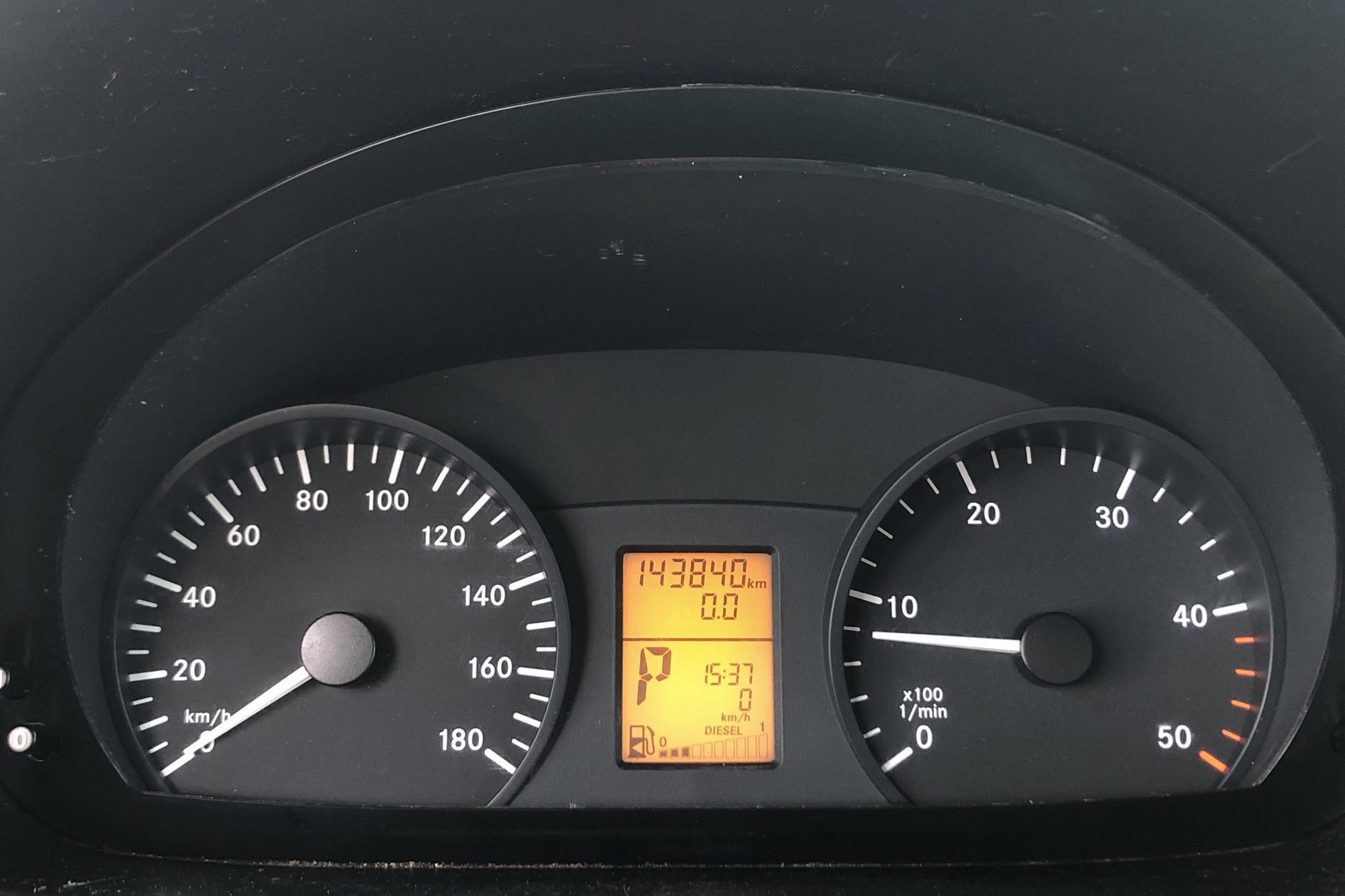 Mercedes Sprinter 316 CDI Skåp (163hk) - 143 830 km - Automatic - white - 2015