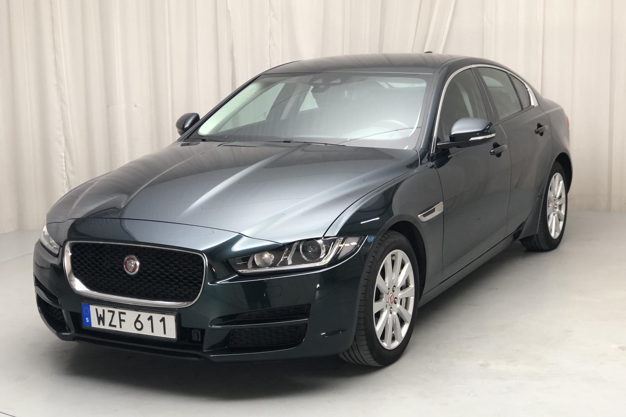 Jaguar XE 2.0D (180hk) - 5 893 mil - Automat - grön - 2017