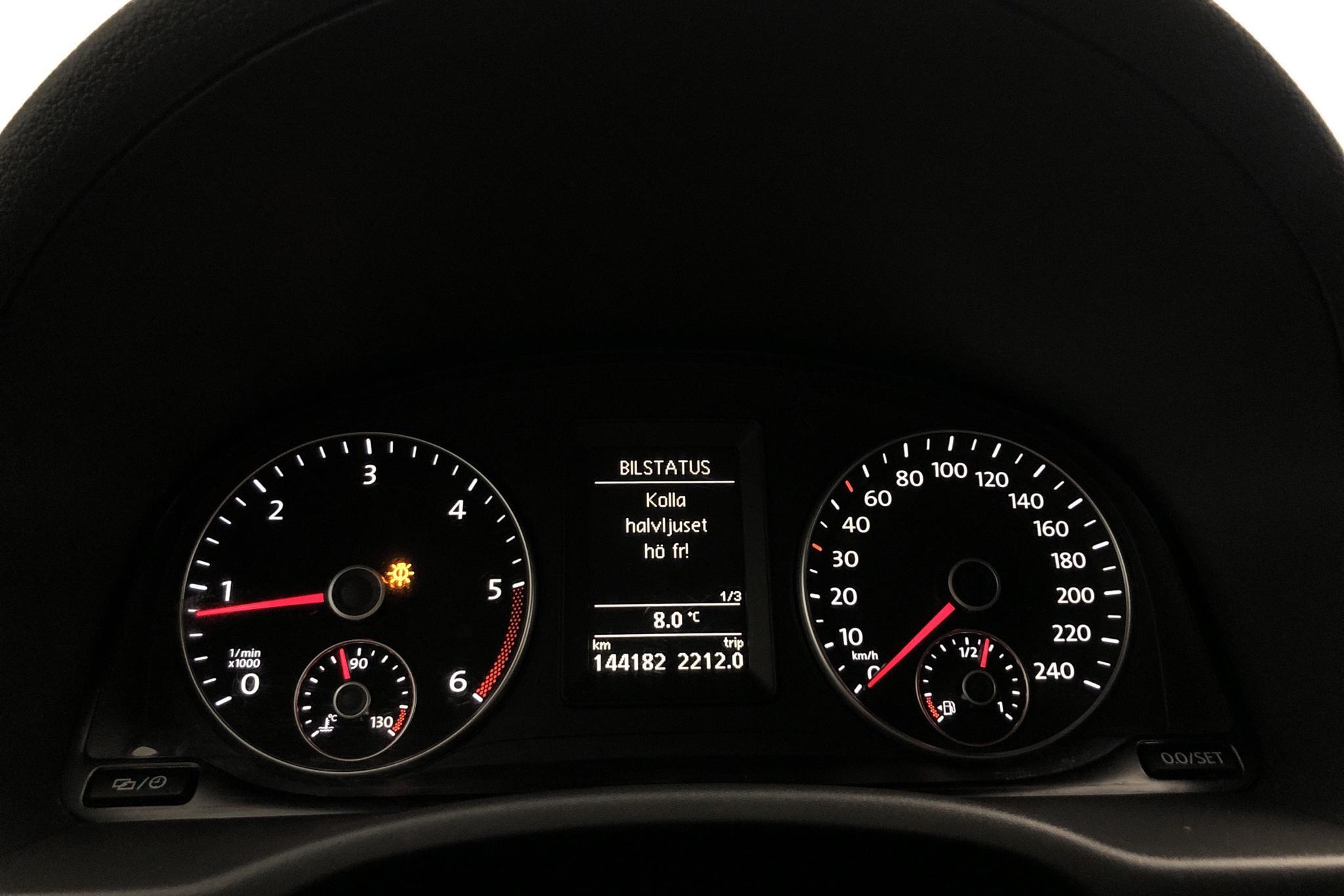 VW Caddy 2.0 TDI Skåp 4-motion (140hk) - 144 170 km - Automatic - white - 2015