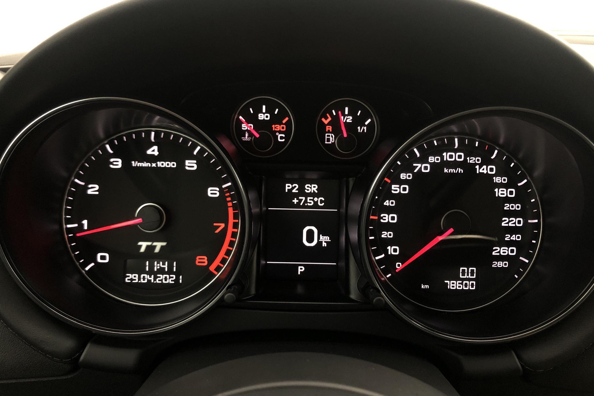 Audi TT 2.0 TFSI Coupé quattro (211hk) - 7 859 mil - Automat - blå - 2012