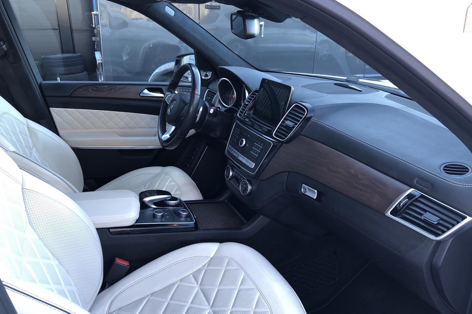 Mercedes GLS 500 4MATIC X166 (455hk) - 12 672 mil - Automat - vit - 2016