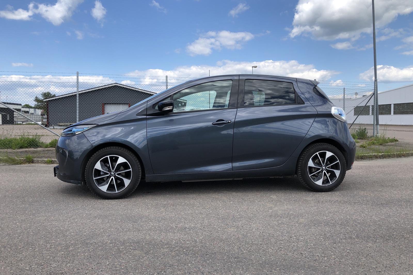 Renault Zoe 41 kWh R90 (92hk) - 88 140 km - Automatic - gray - 2018