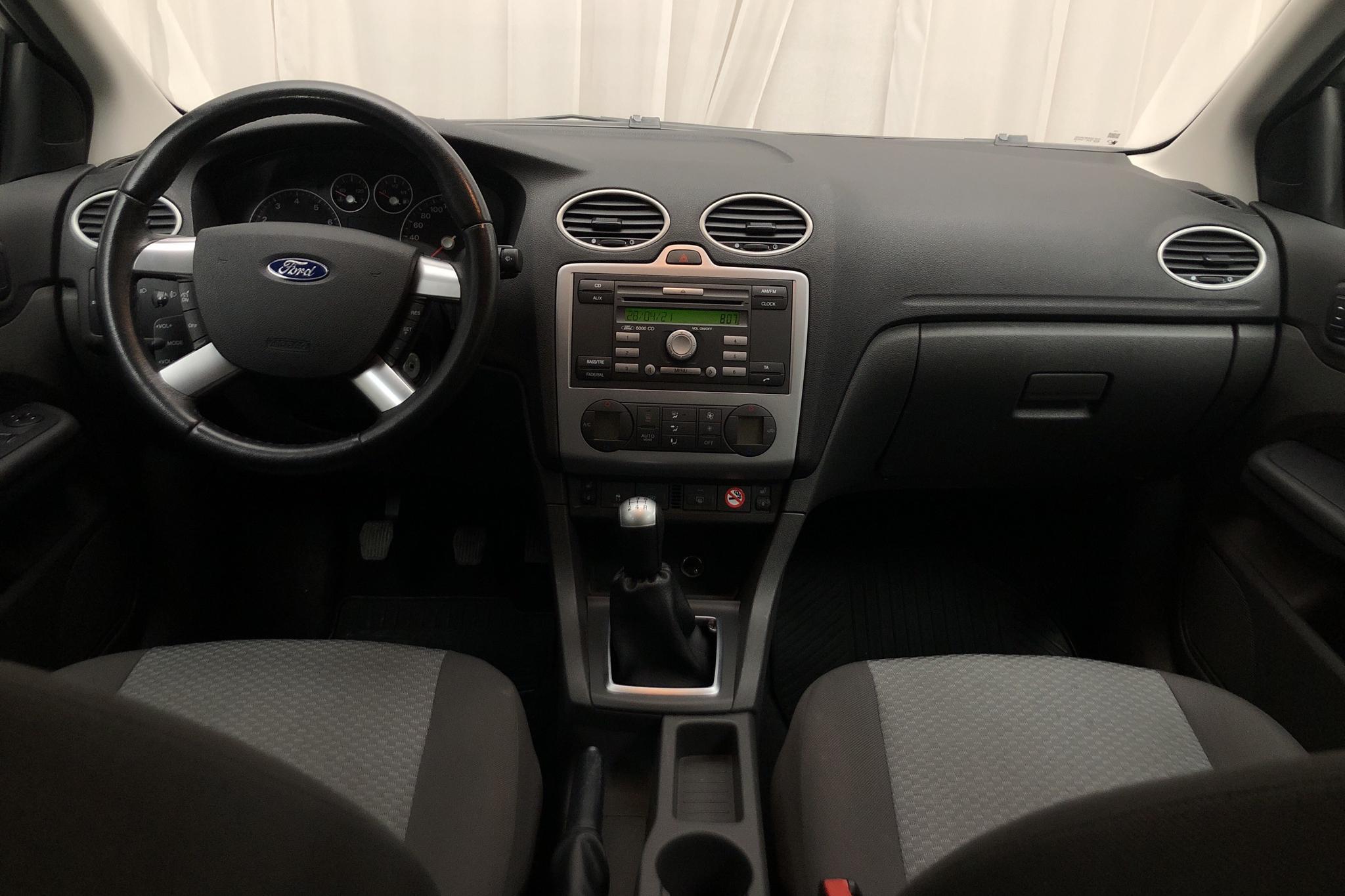 Ford Focus 1.8 Flexifuel 5dr (125hk) - 136 730 km - Manual - blue - 2006