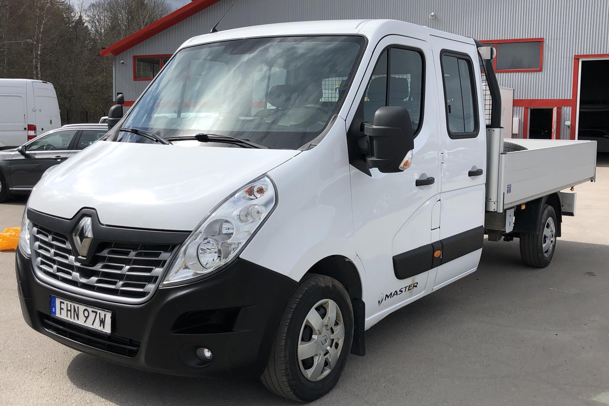 Renault Master 2.3 dCi Pickup/Chassi 2WD (145hk) - 58 700 km - Manual - white - 2019