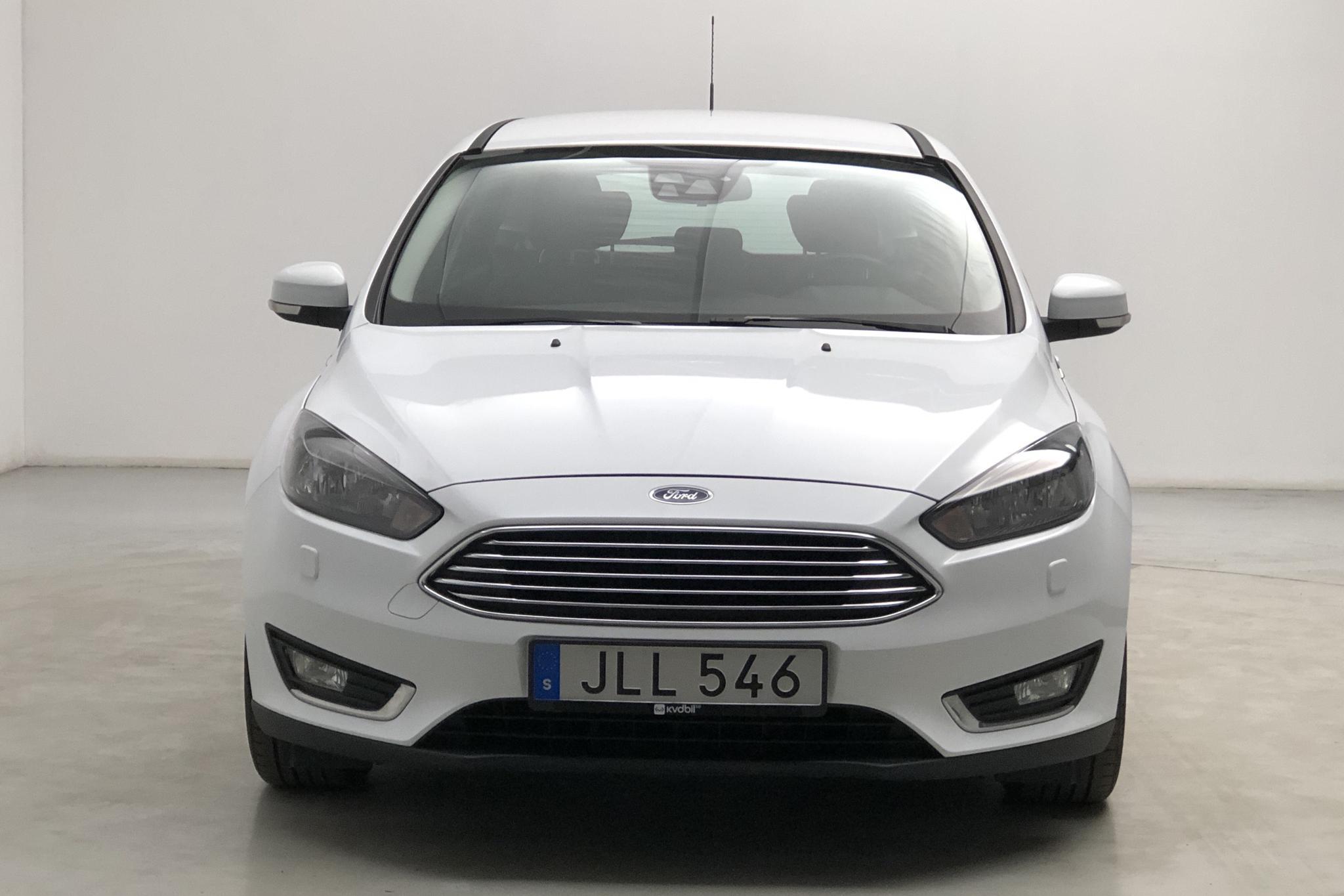 Ford Focus 1.0 EcoBoost Kombi (125hk) - 63 260 km - Automatic - white - 2016