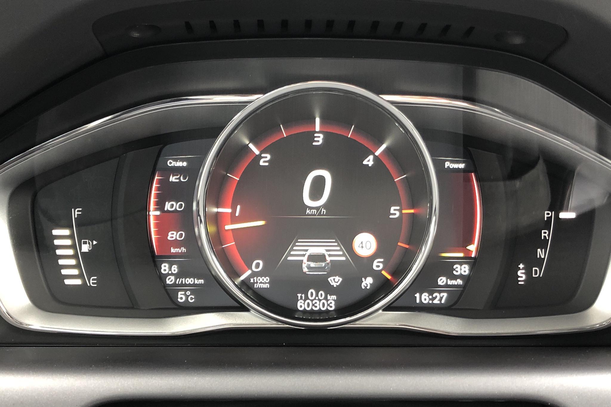 Volvo XC60 D4 AWD (190hk) - 60 300 km - Automatic - Dark Blue - 2017