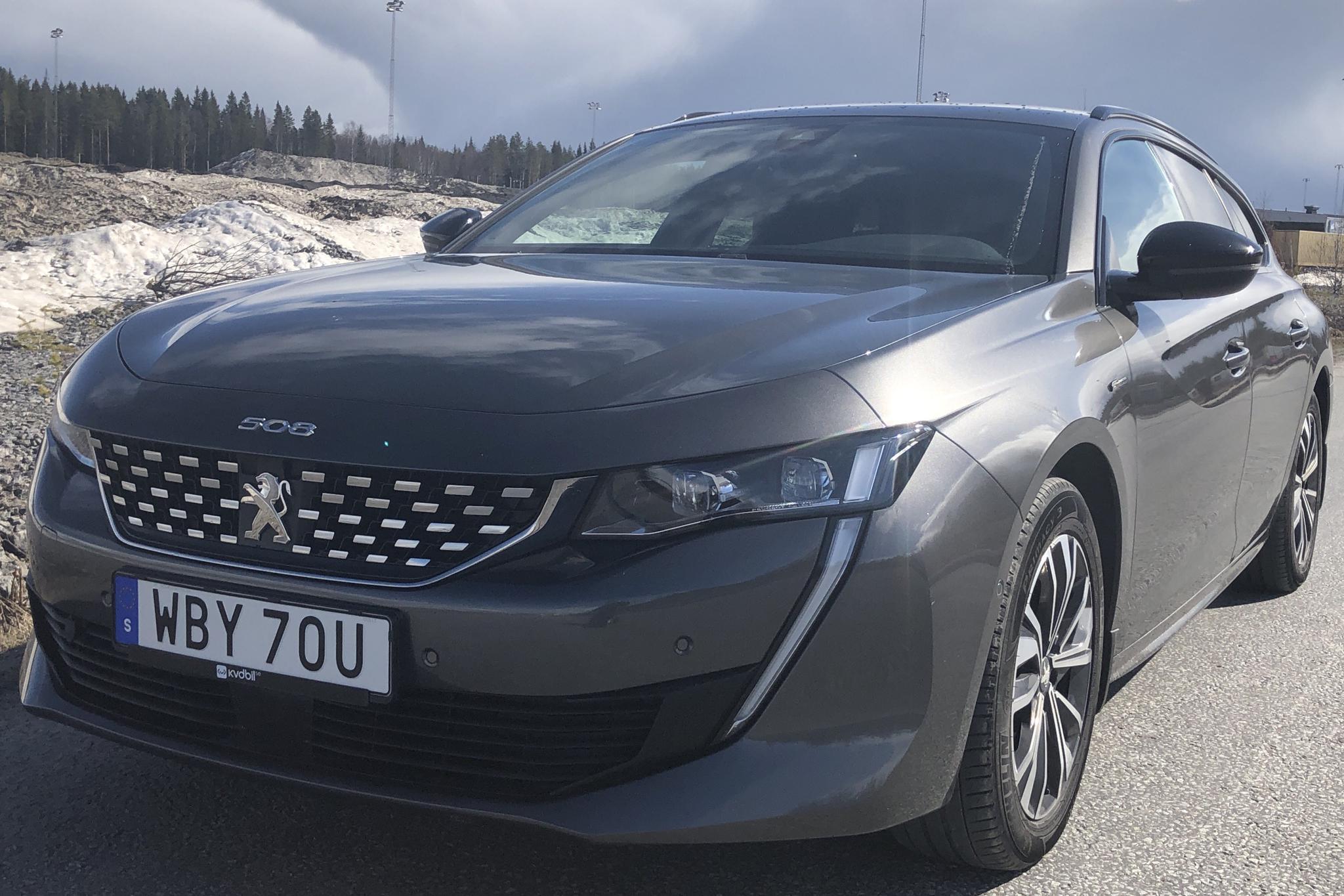 Peugeot 508 1.6 PureTech SW (180hk) - 3 141 mil - Automat - Light Grey - 2019