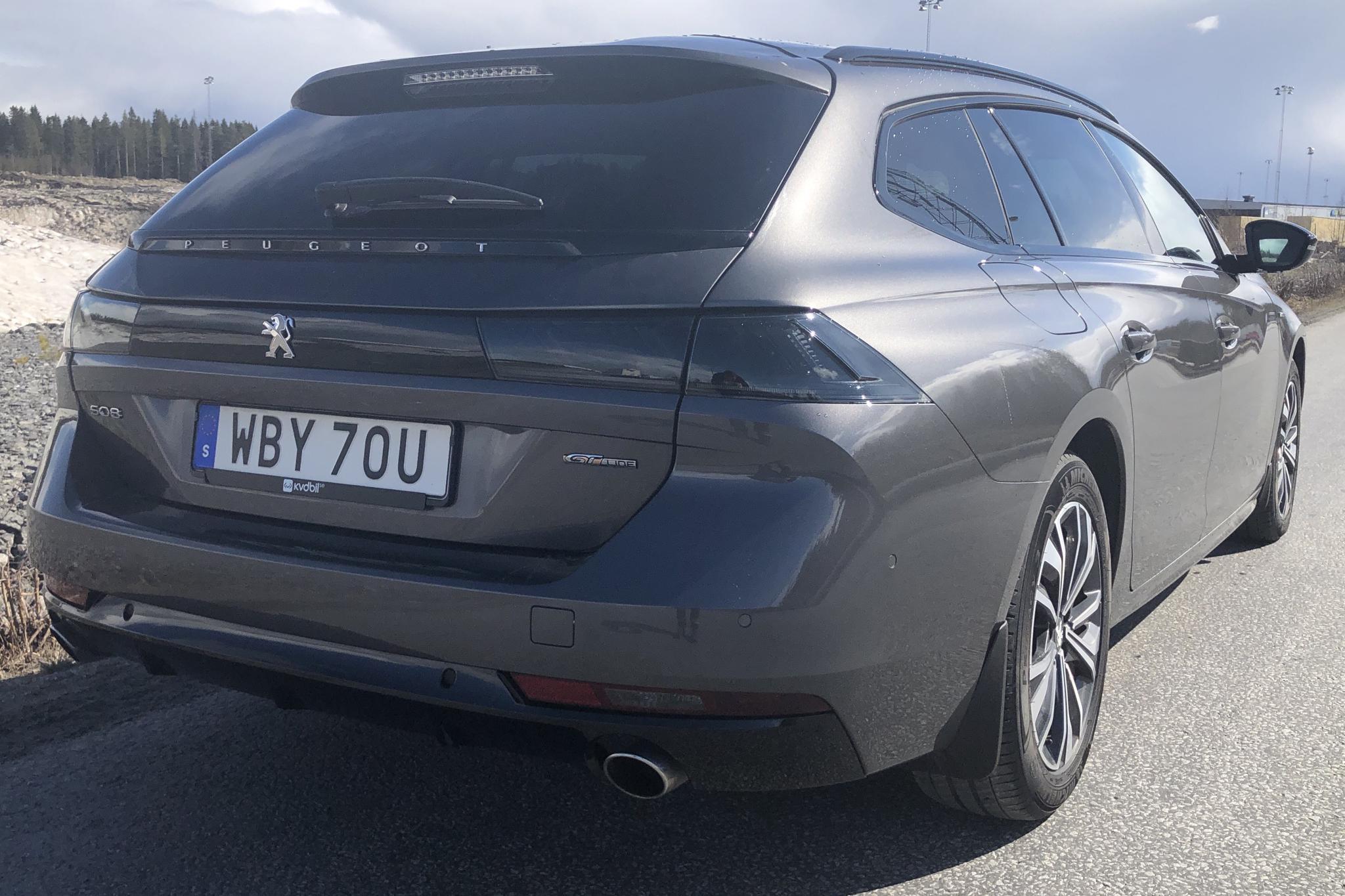 Peugeot 508 1.6 PureTech SW (180hk) - 31 410 km - Automatic - Light Grey - 2019