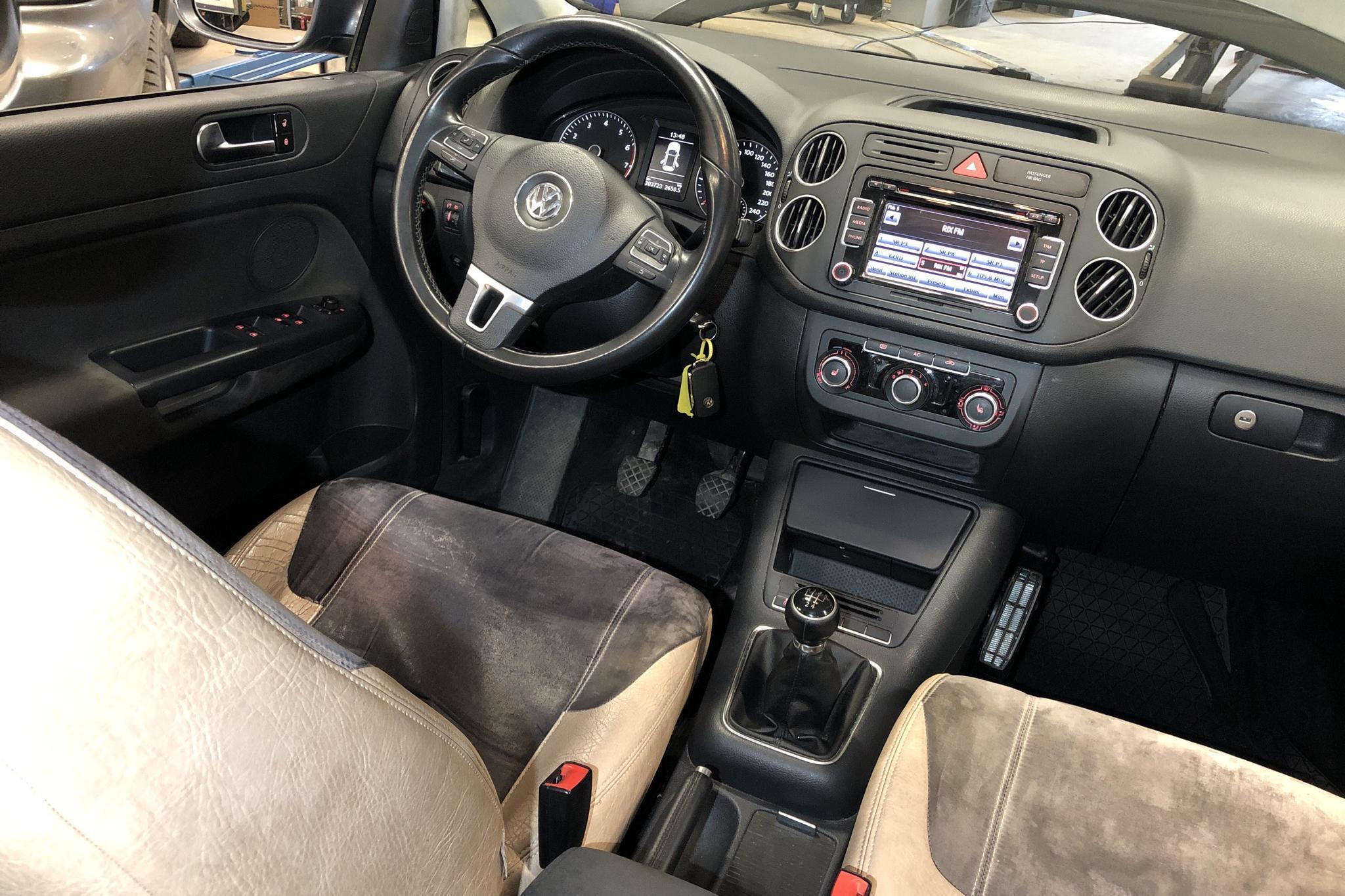 VW Golf VI 1.6 MultiFuel E85 Plus (102hk) - 303 730 km - Manual - gray - 2012
