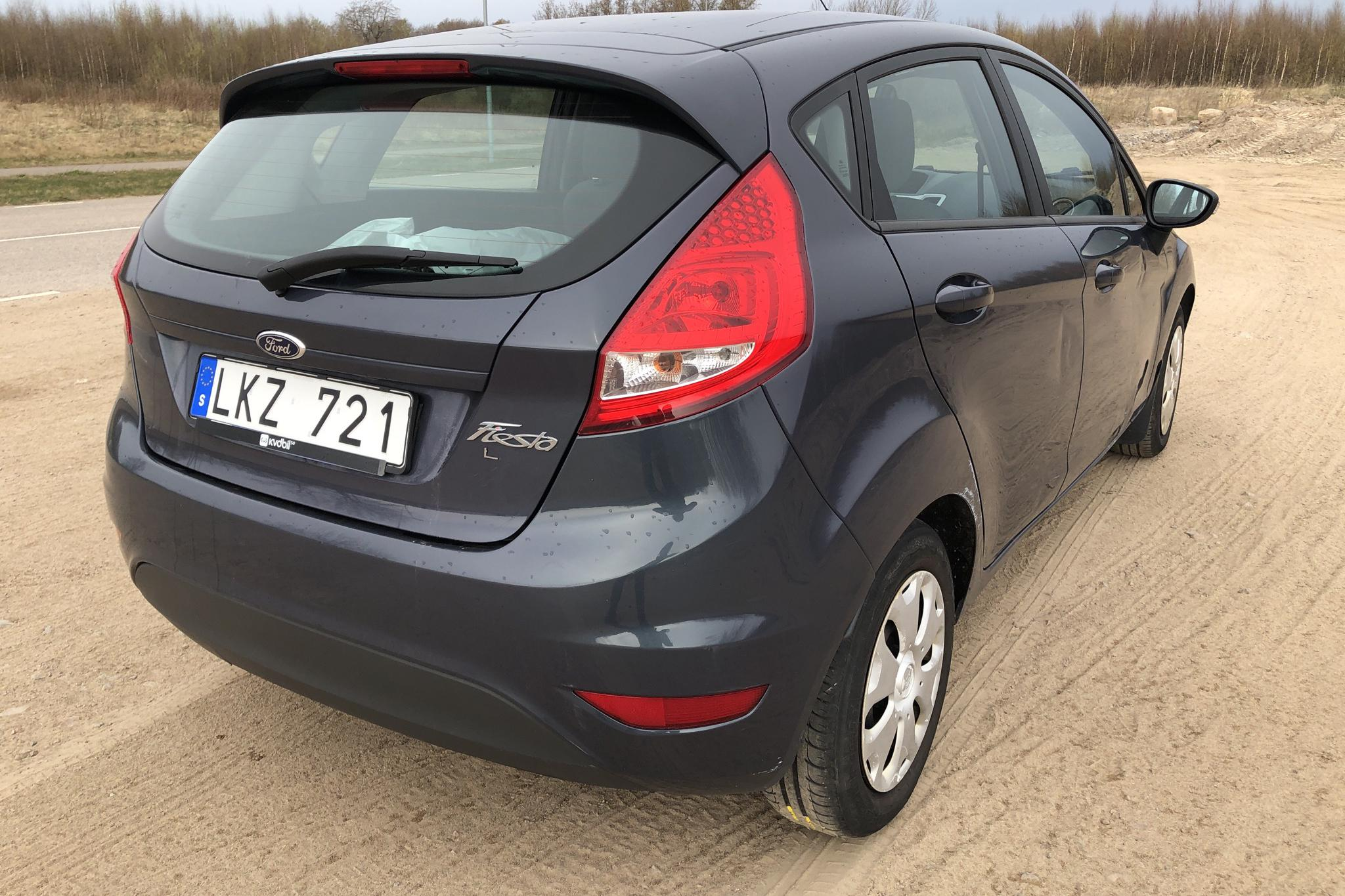Ford Fiesta 1.6 TDCi 5dr (95hk) - 164 820 km - Manual - gray - 2012