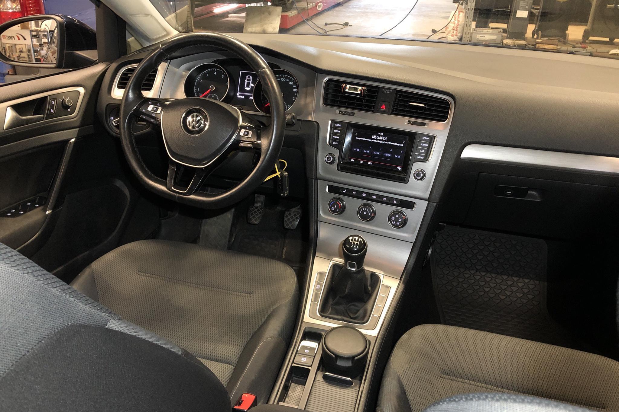 VW Golf VII 1.4 TSI Multifuel 5dr (125hk) - 180 470 km - Manual - Dark Blue - 2015