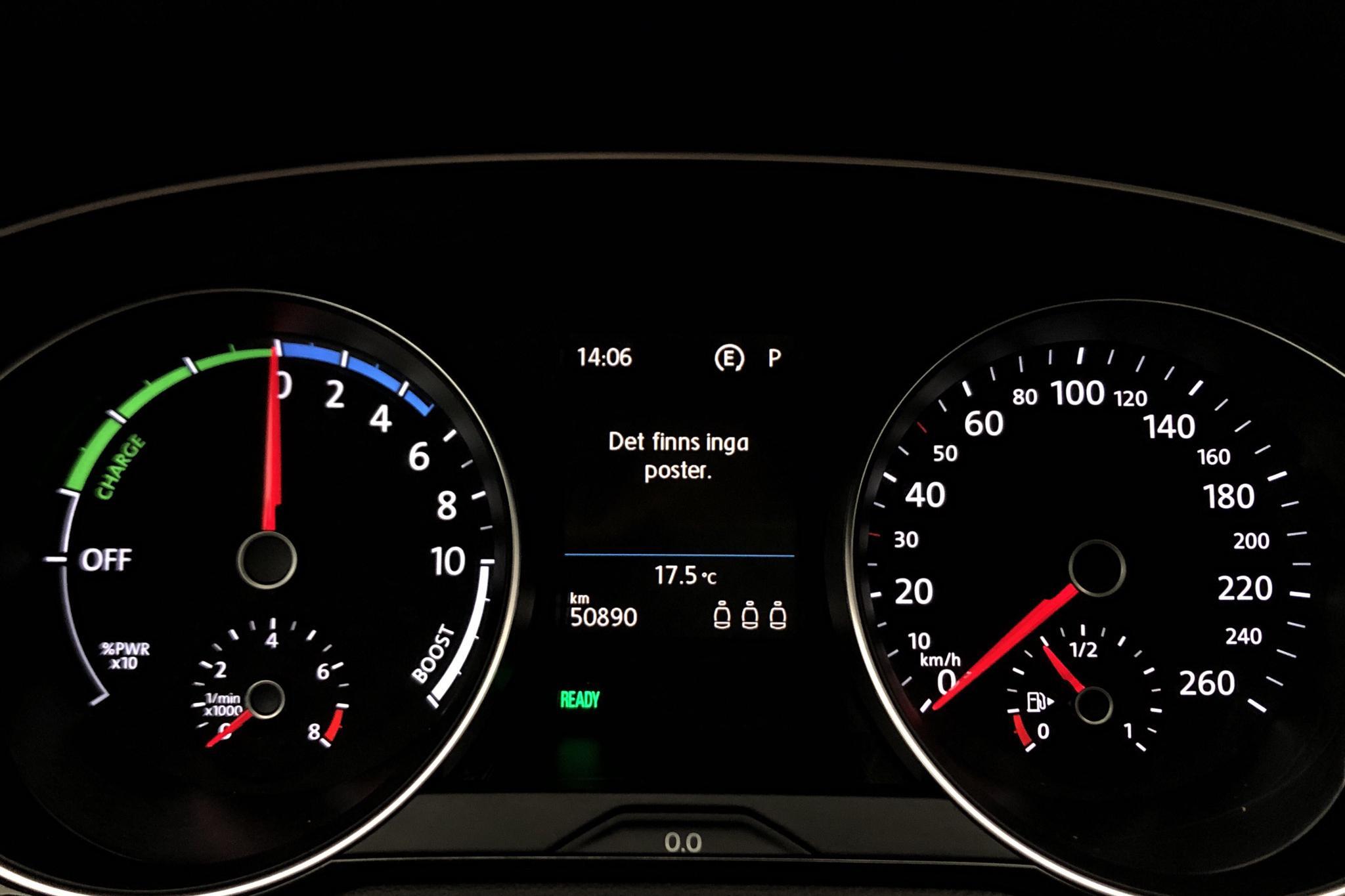 VW Passat 1.4 Plug-in-Hybrid Sportscombi (218hk) - 50 890 km - Automatic - Dark Grey - 2017