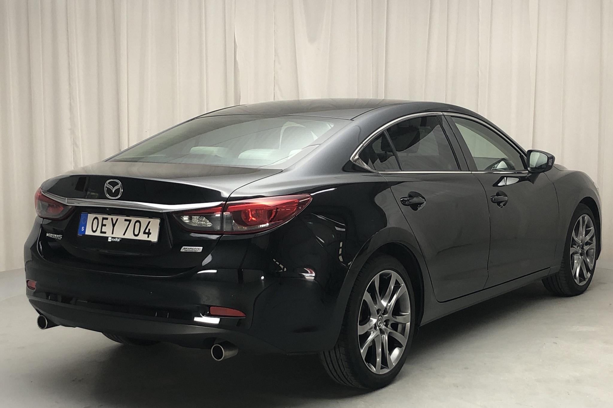 Mazda 6 2.5 Sedan (192hk) - 7 244 mil - Automat - svart - 2016