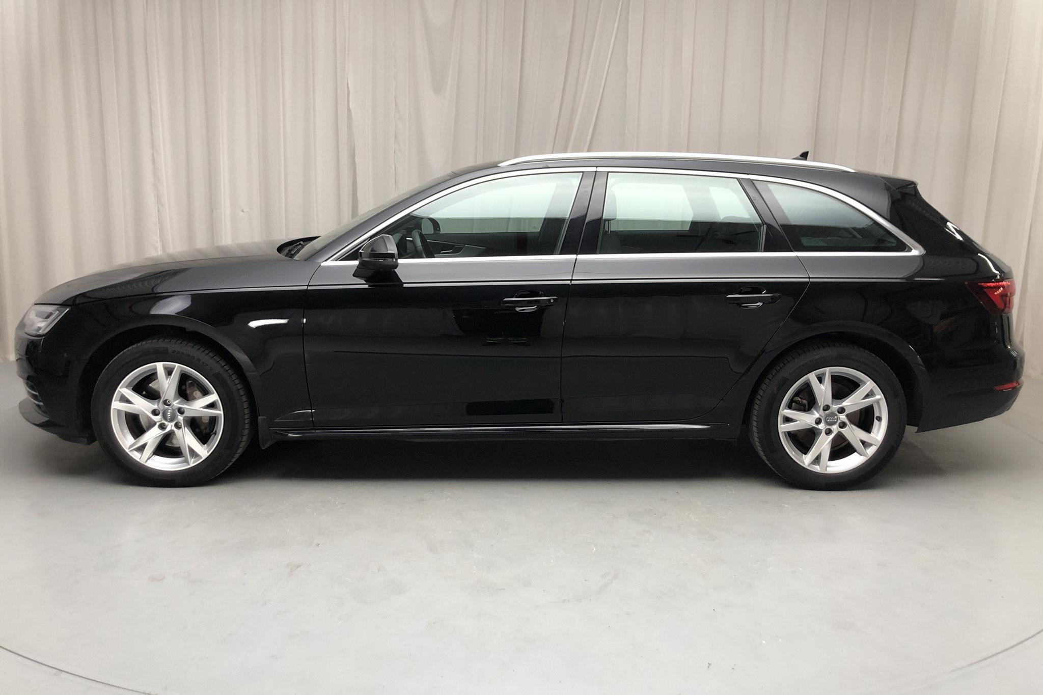 Audi A4 2.0 TDI Avant quattro (190hk) - 2 824 mil - Automat - svart - 2018