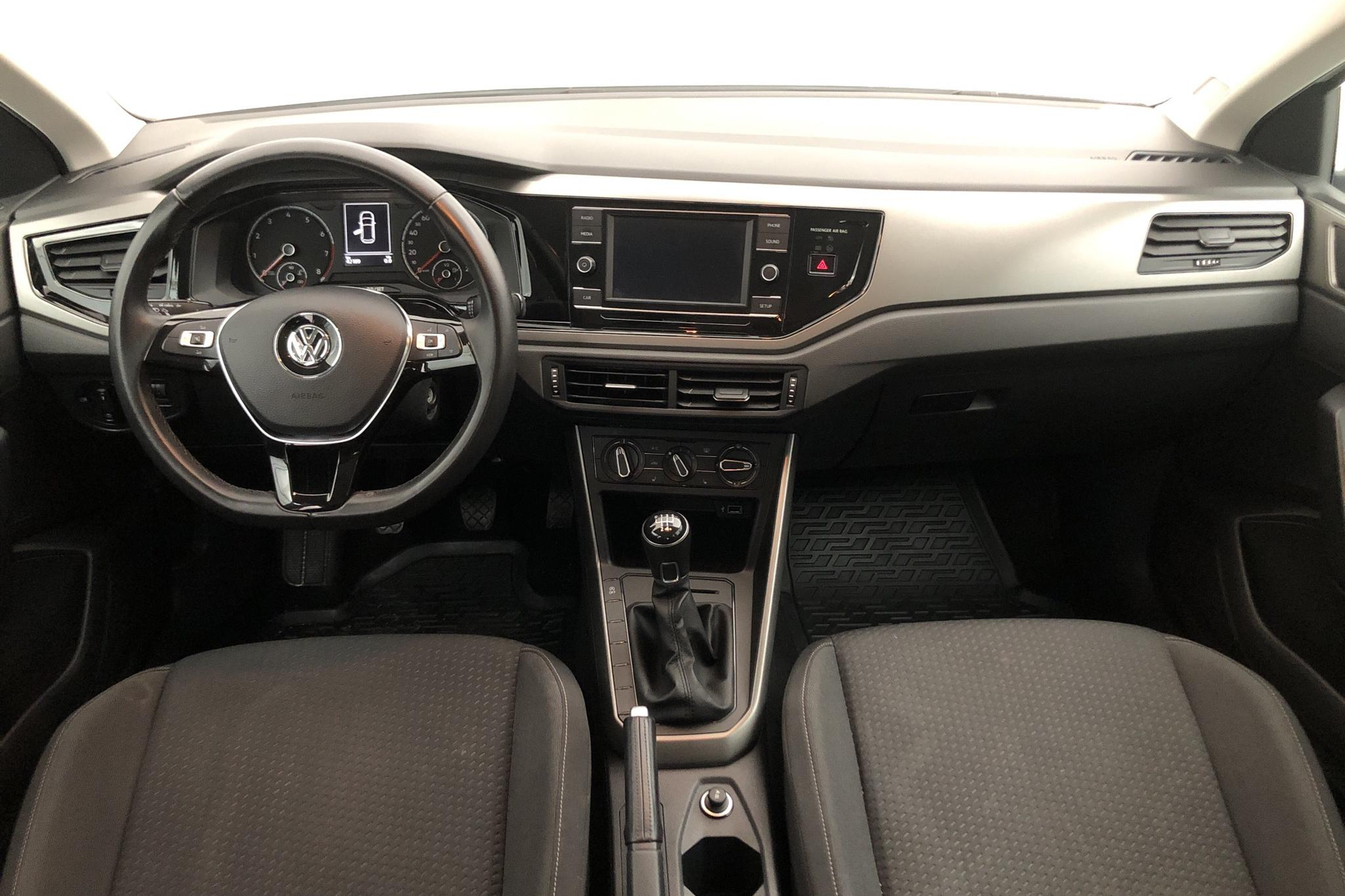 VW Polo 1.0 TSI 5dr (95hk) - 4 220 mil - Manuell - vit - 2018