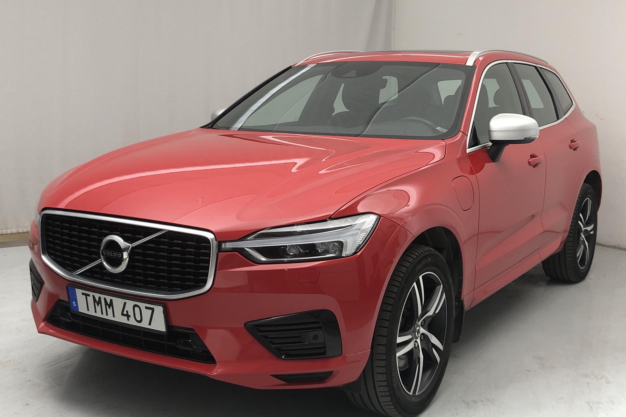 Volvo XC60 T8 AWD Twin Engine (390hk) - 88 510 km - Automatic - red - 2019