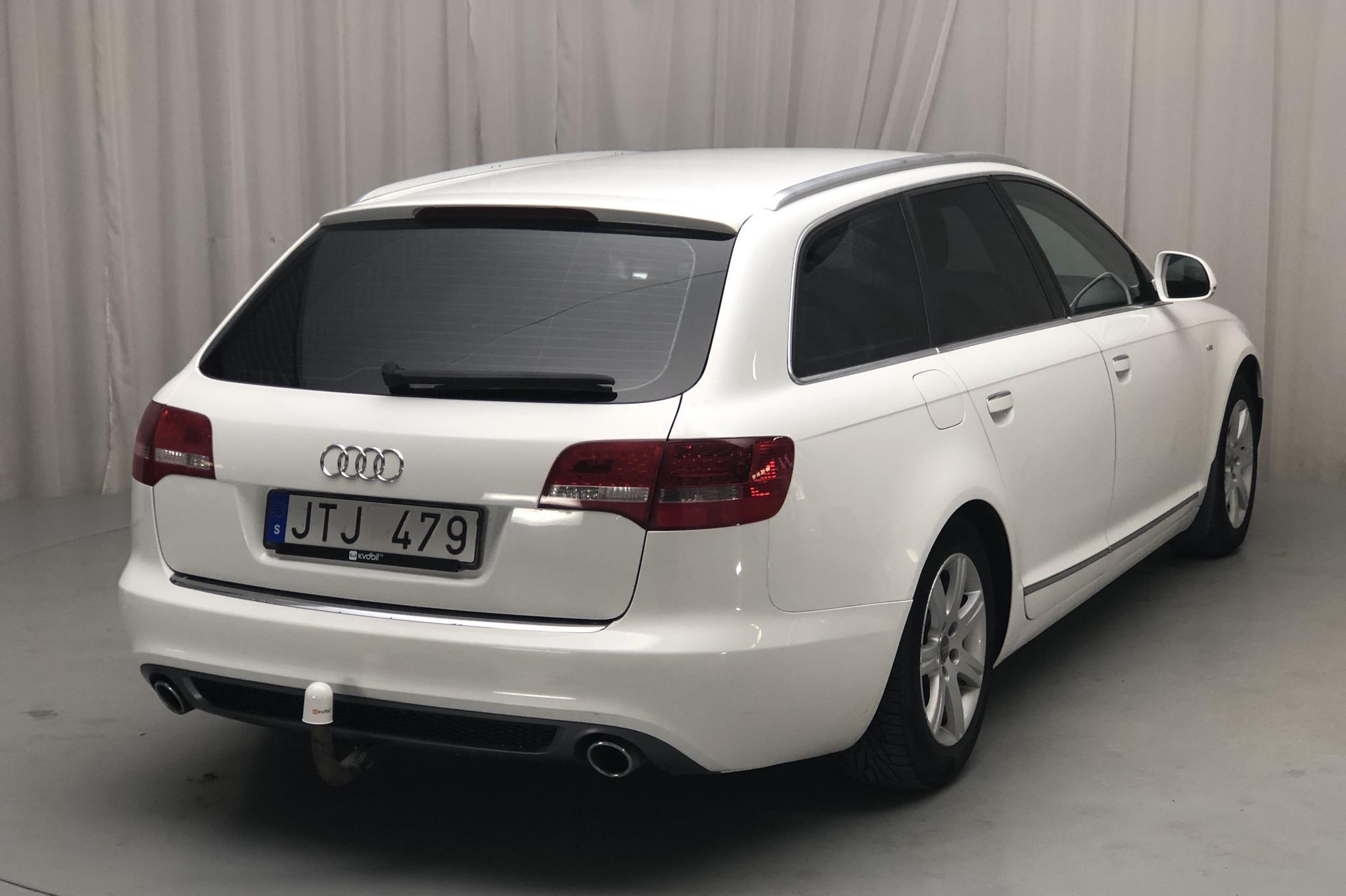 Audi A6 2.0 TDI Avant (170hk) - 27 533 mil - Automat - vit - 2009
