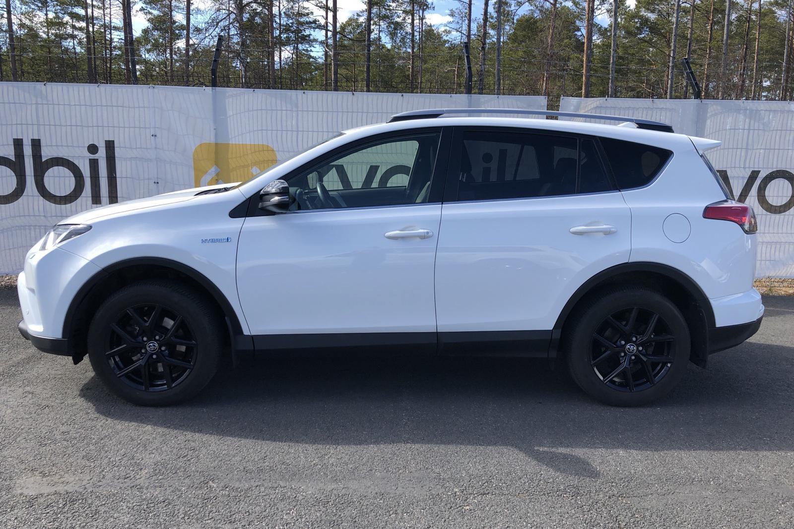 Toyota RAV4 2.5 HSD AWD (197hk) - 12 309 mil - Automat - vit - 2018