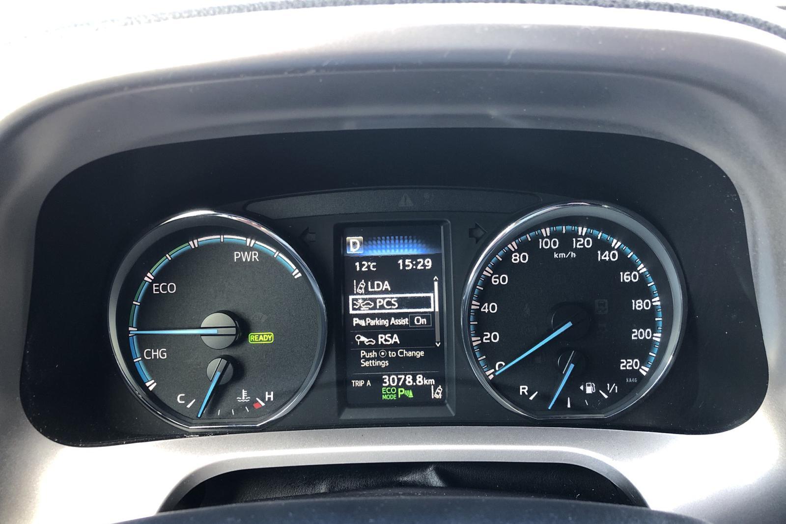 Toyota RAV4 2.5 HSD AWD (197hk) - 123 090 km - Automatic - white - 2018