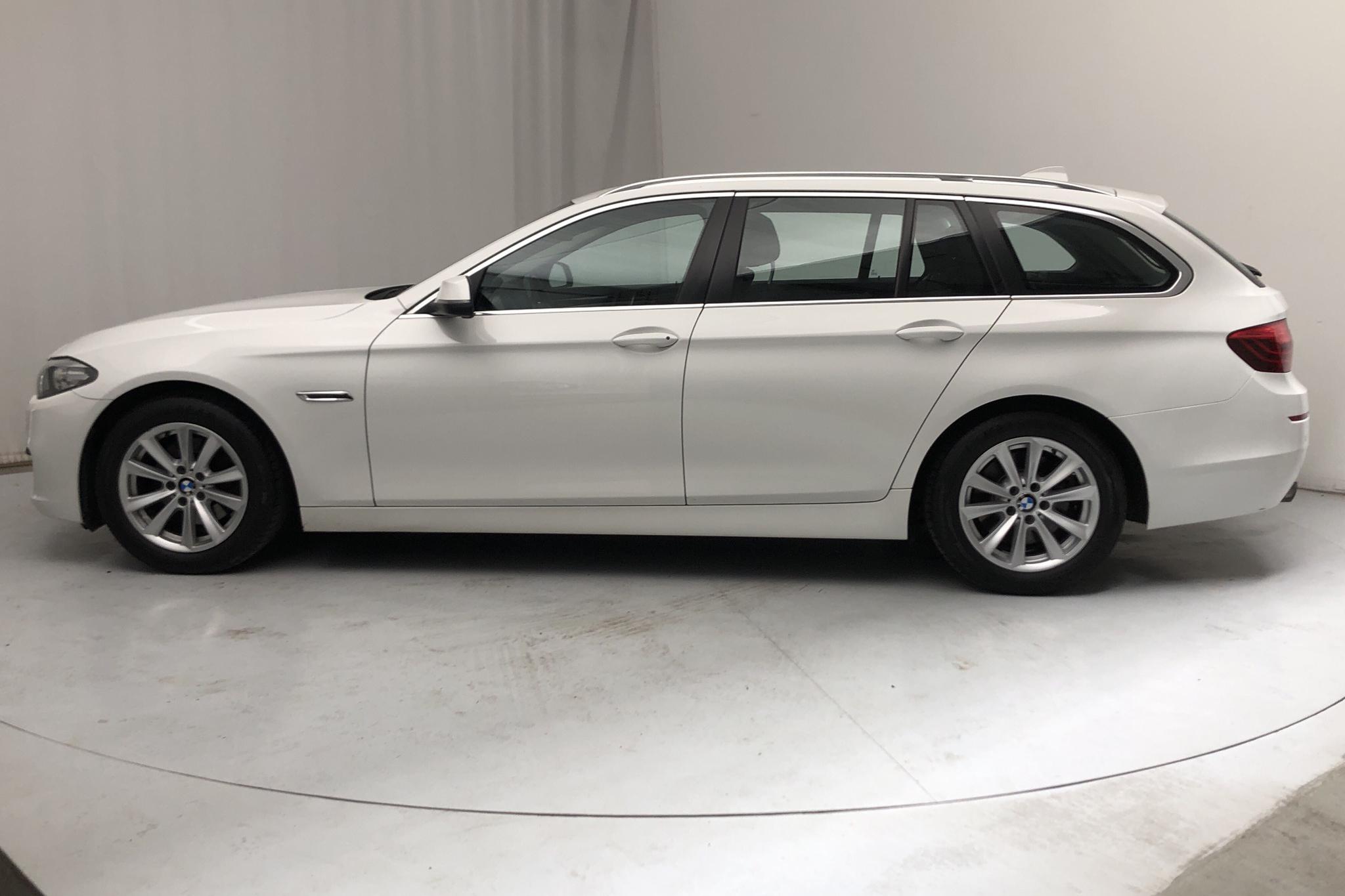 BMW 520d Touring, F11 (184hk) - 164 630 km - Automatic - white - 2014