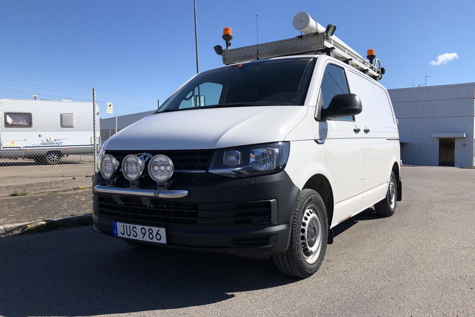 VW Transporter T6 2.0 TDI BMT Skåp 4MOTION (150hk) - 74 220 km - Automatic - white - 2016