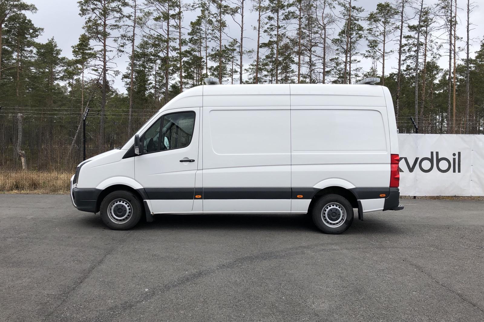 VW Crafter 35 2.0 TDI Skåp (163hk) - 143 300 km - Manual - white - 2014