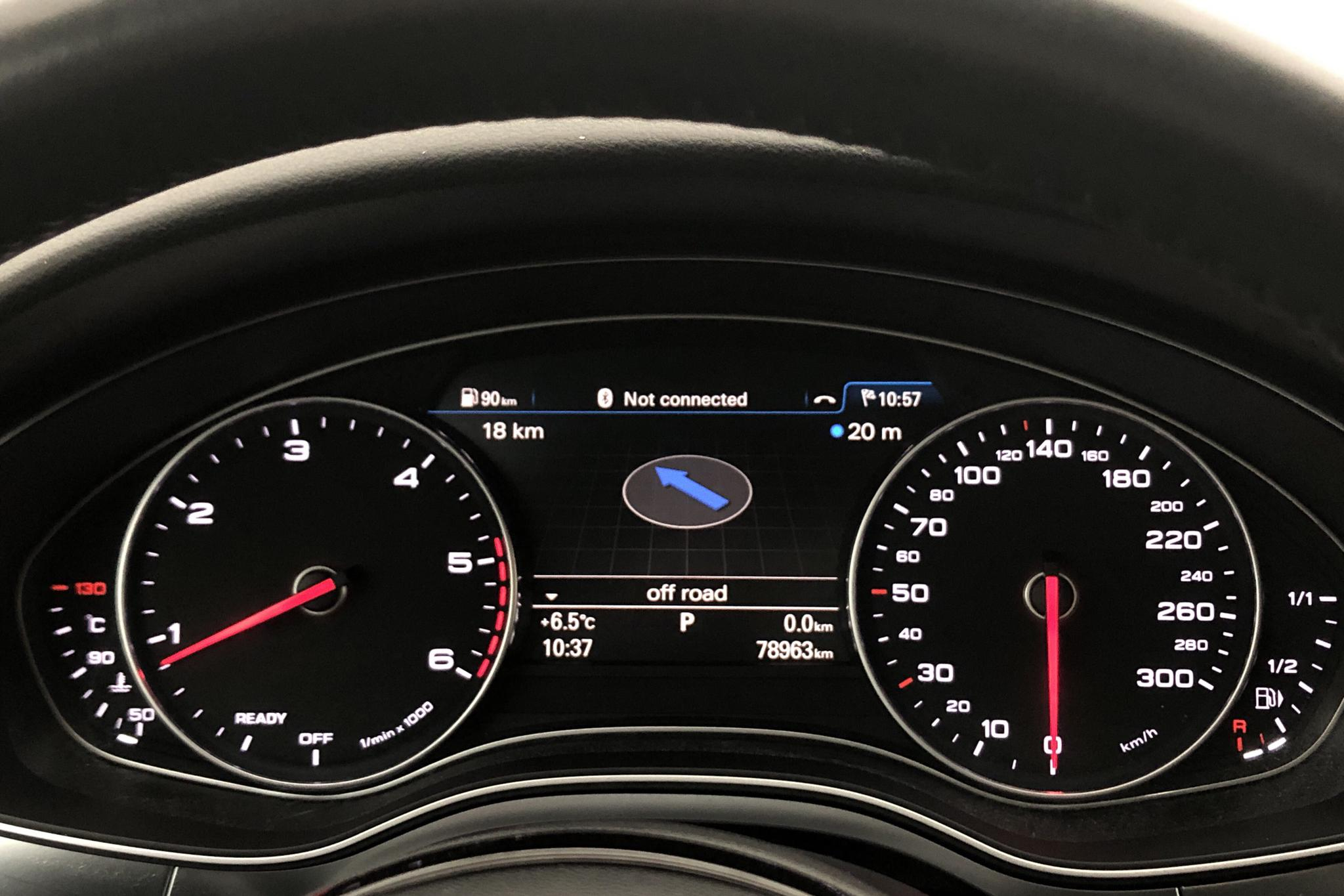 Audi A6 2.0 TDI Avant quattro (190hk) - 78 960 km - Automatic - white - 2018