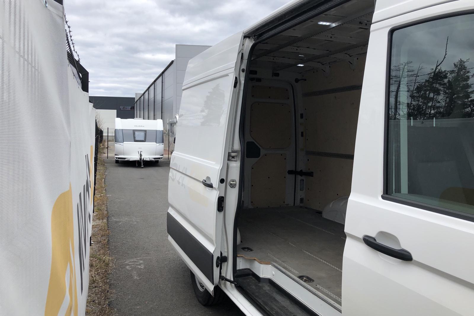 VW Crafter 35 2.0 TDI Skåp 4Motion (177hk) - 19 288 mil - Manuell - vit - 2018