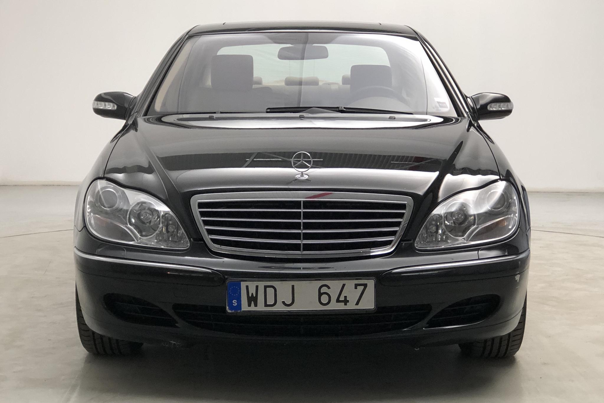 Mercedes S 500 W220 (306hk) - 120 350 km - Automatic - black - 2005