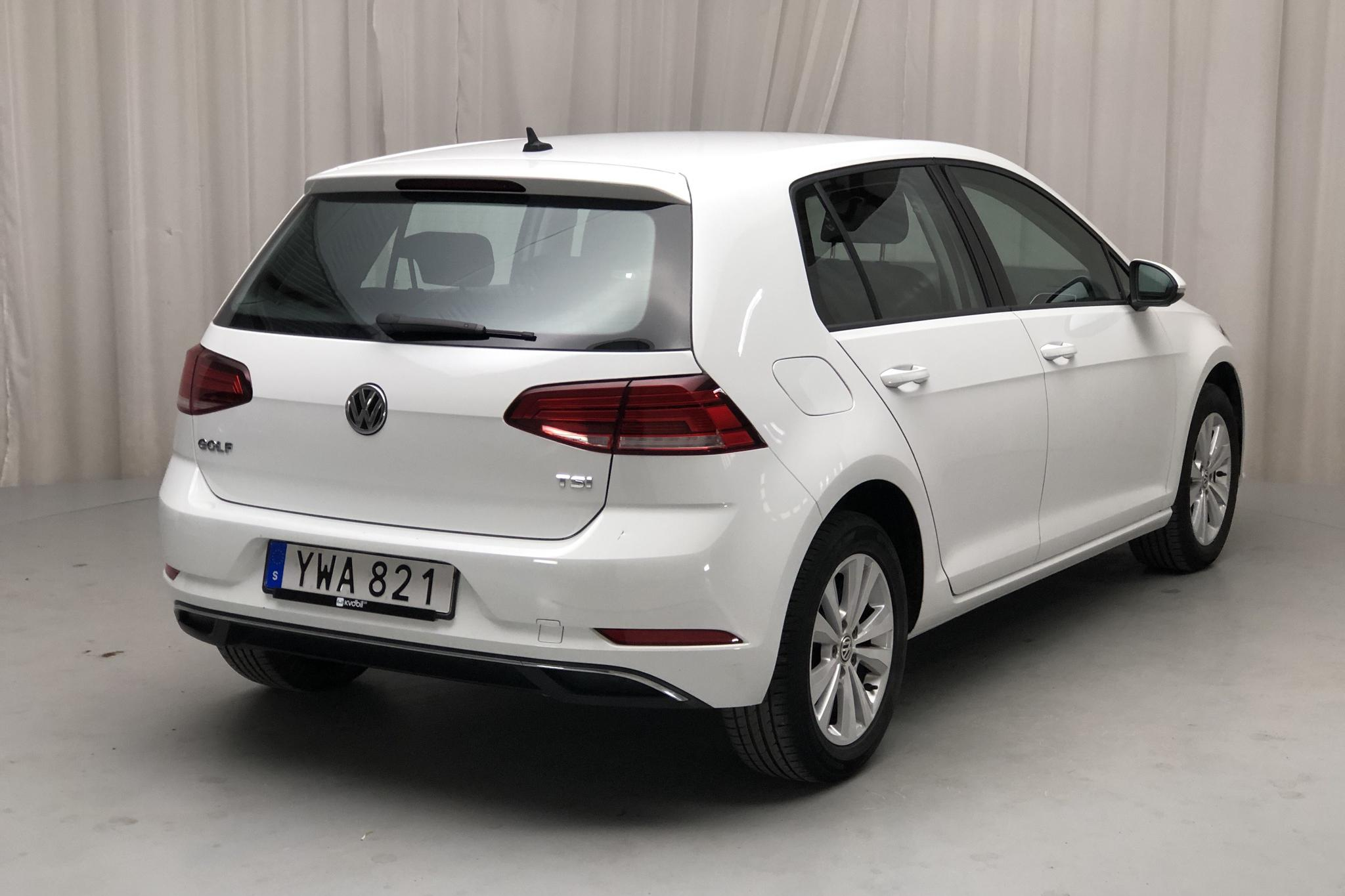 VW Golf VII 1.0 TSI 5dr (110hk) - 46 160 km - Manual - white - 2018