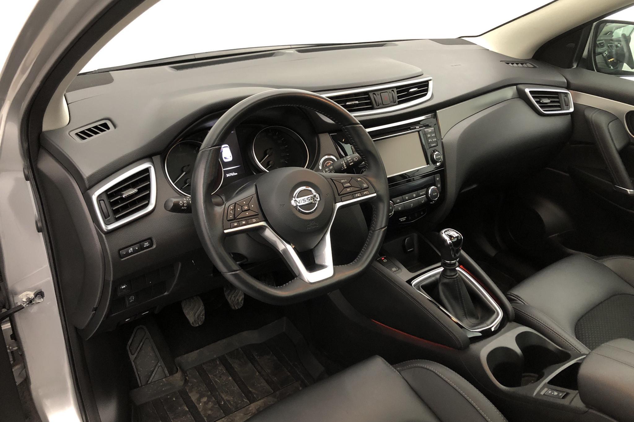 Nissan Qashqai 1.5 dCi (110hk) - 3 476 mil - Manuell - silver - 2018