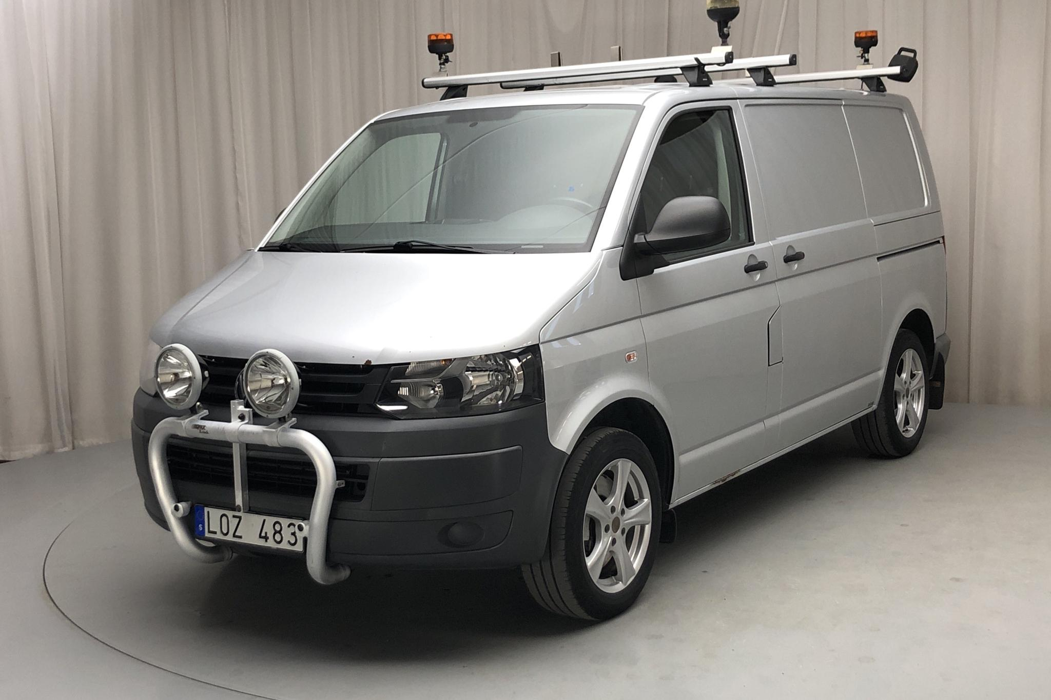 VW Transporter T5 2.0 TDI 4MOTION (180hk) - 107 900 km - Automatic - silver - 2011
