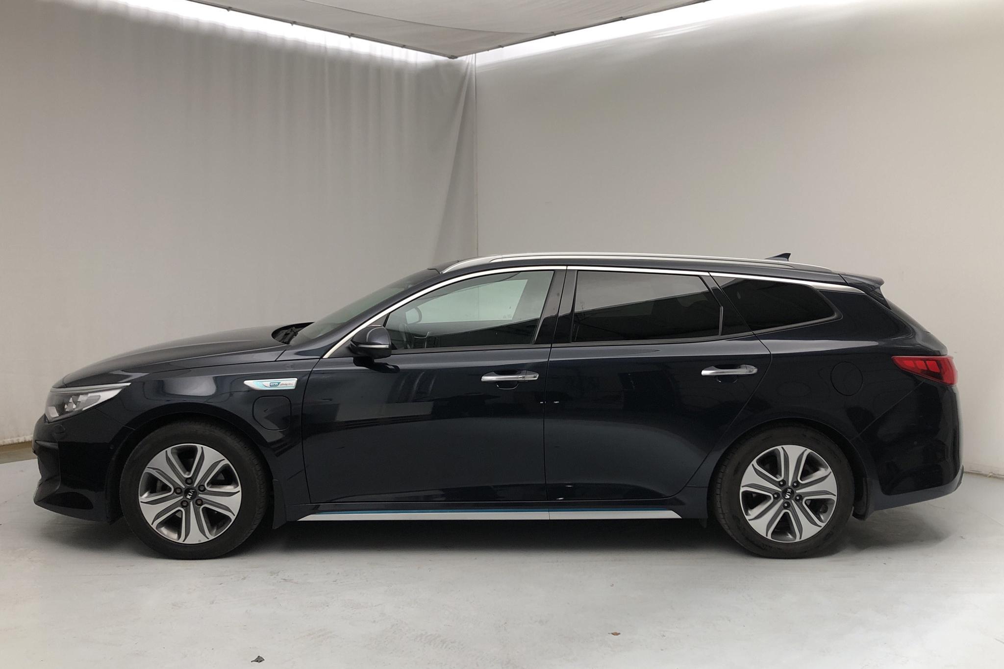KIA Optima 2.0 GDi Plug-in Hybrid SW (205hk) - 49 940 km - Automatic - blue - 2018