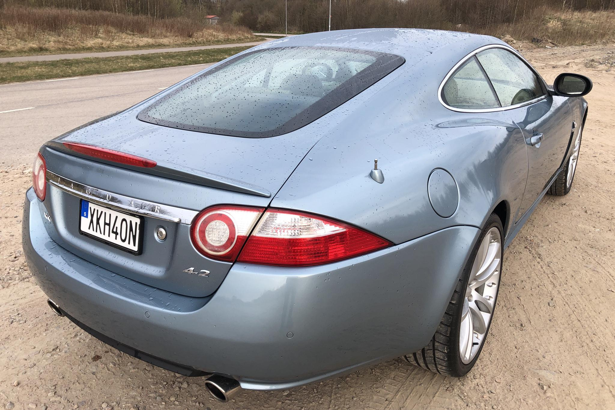 Jaguar XK 4.2 Coupé (300hk) - 10 246 mil - Automat - Light Blue - 2007