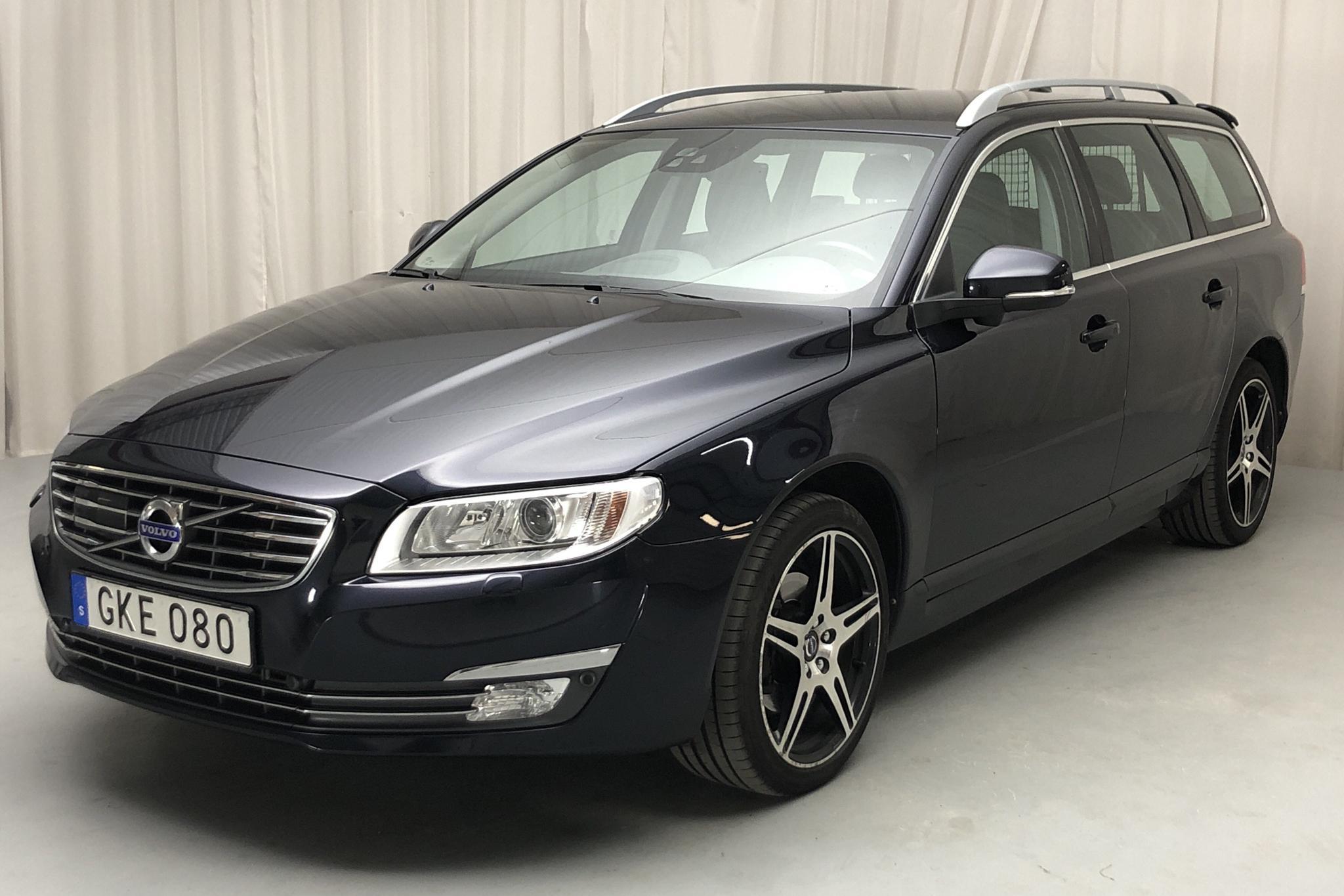 Volvo V70 II D4 (181hk) - 131 160 km - Manual - Dark Blue - 2016