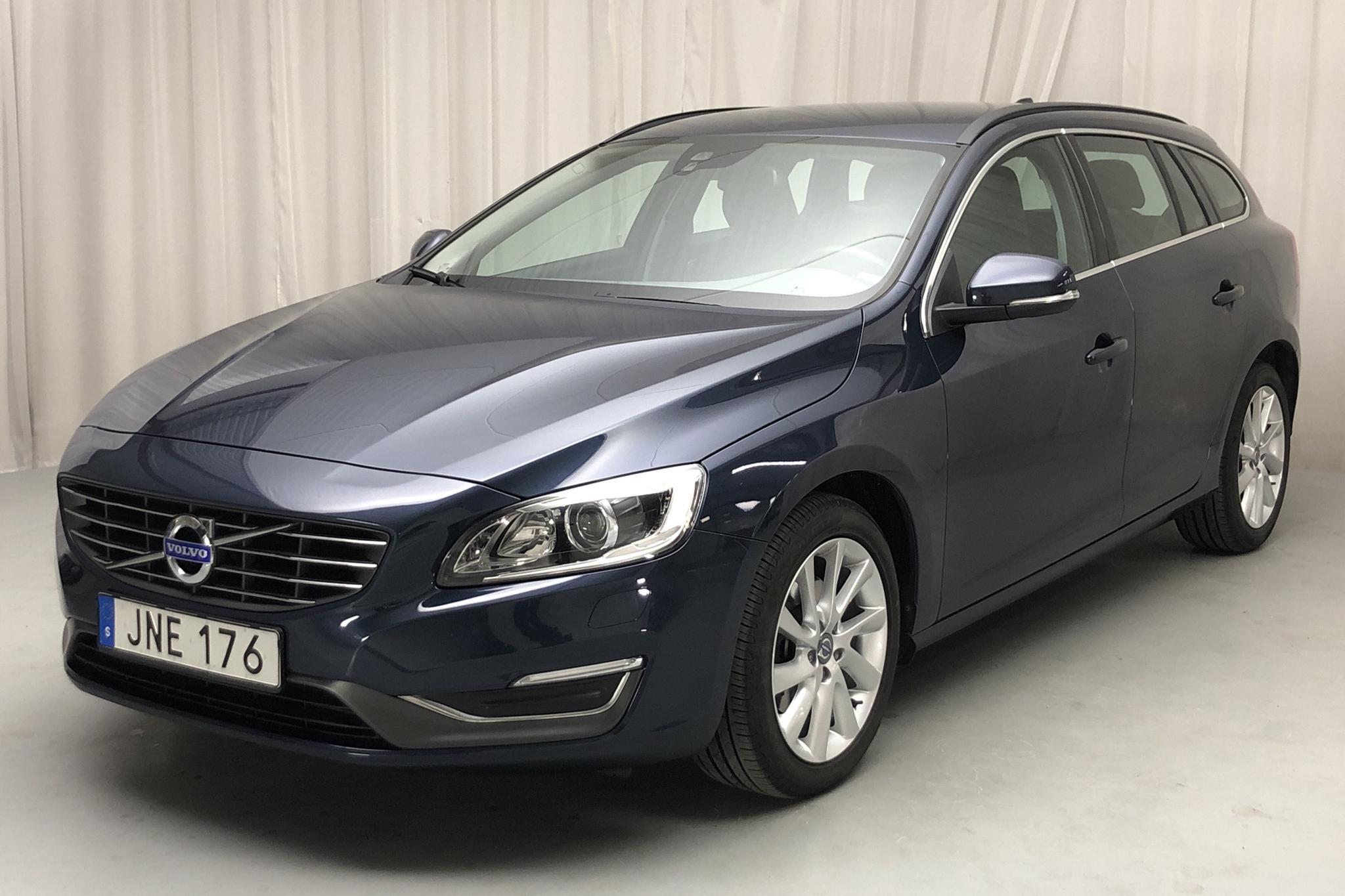 Volvo V60 D2 (115hk) - 45 410 km - Automatic - blue - 2015
