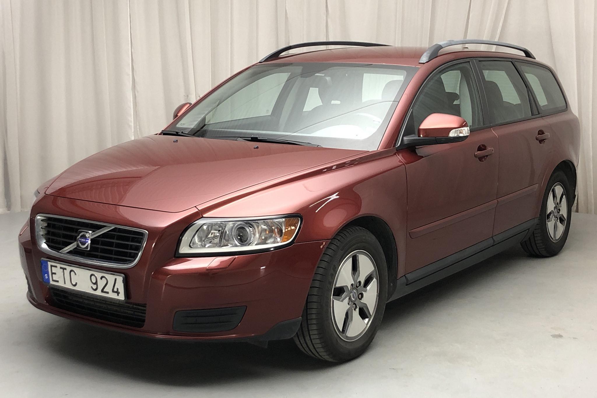 Volvo V50 1.6D DRIVe (109hk) - 14 952 mil - Manuell - röd - 2010