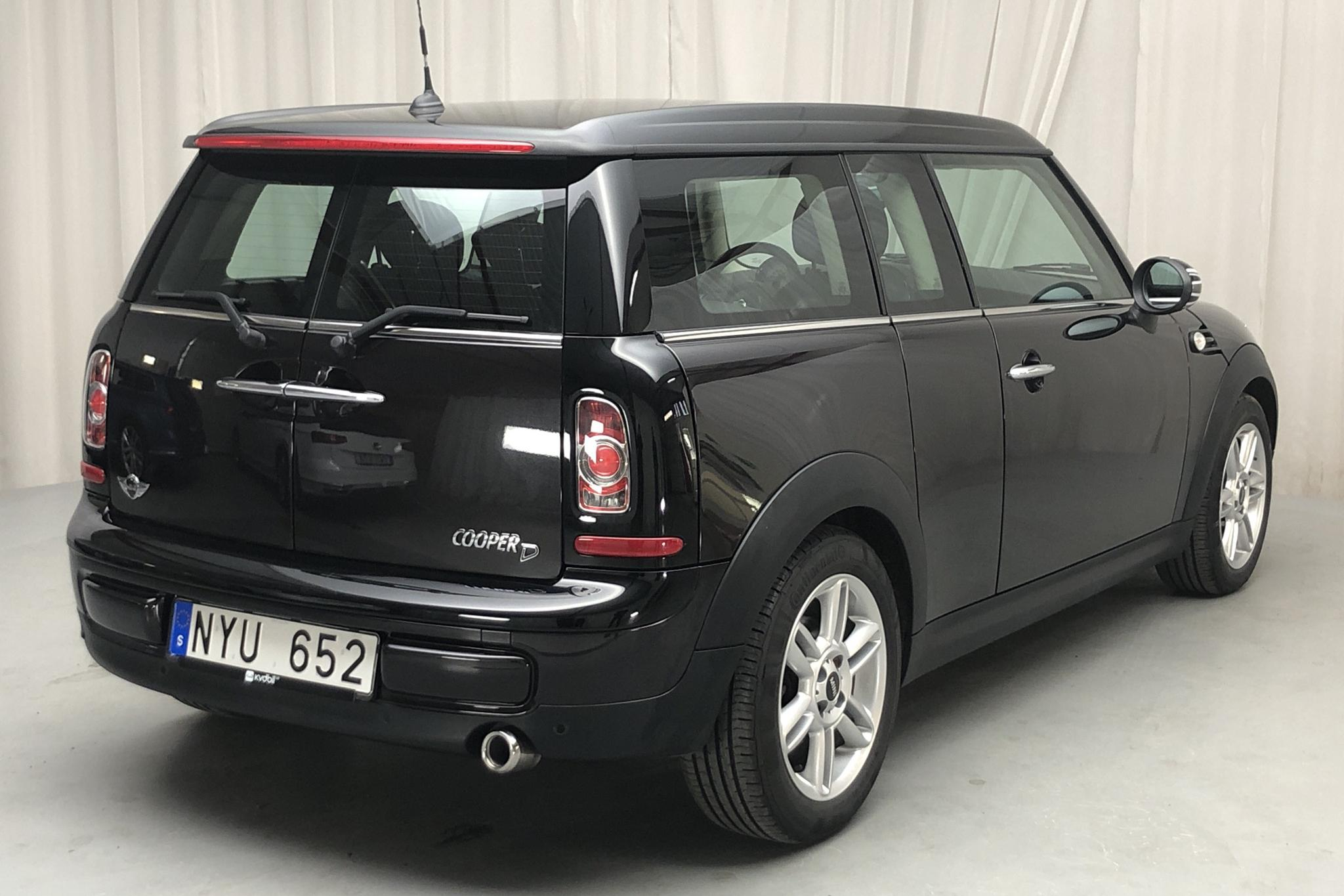 MINI Cooper D 1.6 Clubman (112hk) - 90 990 km - Manual - brown - 2013