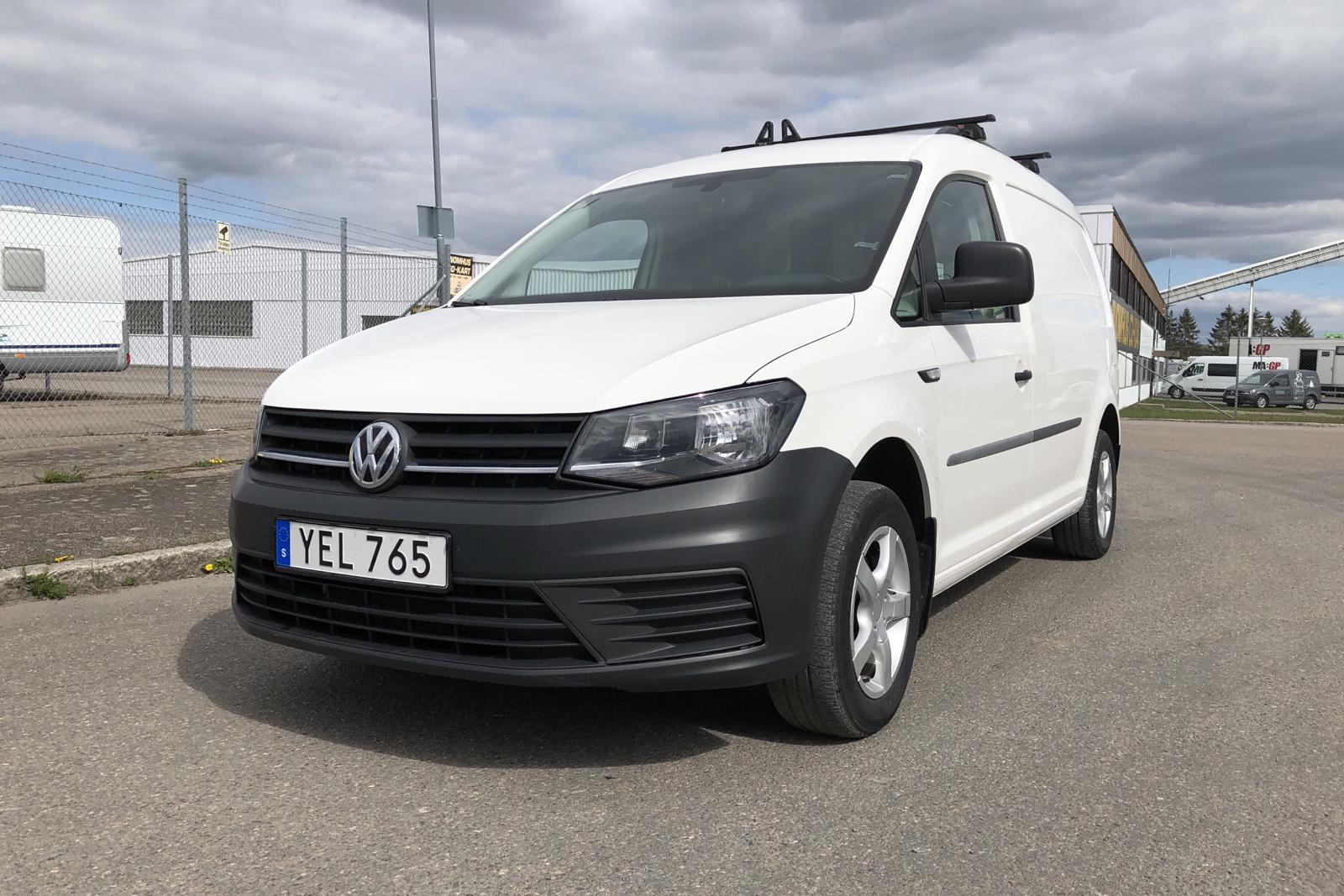 VW Caddy 2.0 TDI Maxi Skåp (102hk) - 59 280 km - Manual - white - 2016